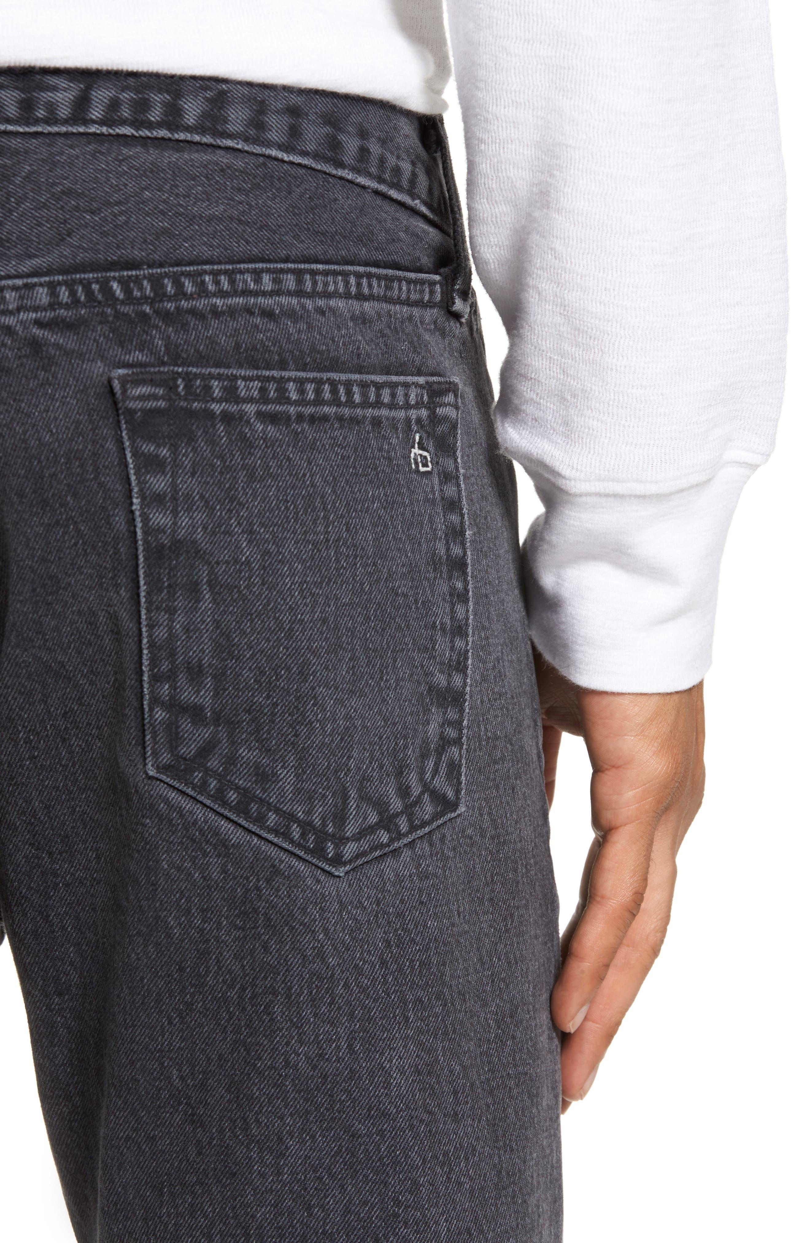 Fit 2 Slim Fit Jeans,                             Alternate thumbnail 4, color,                             001
