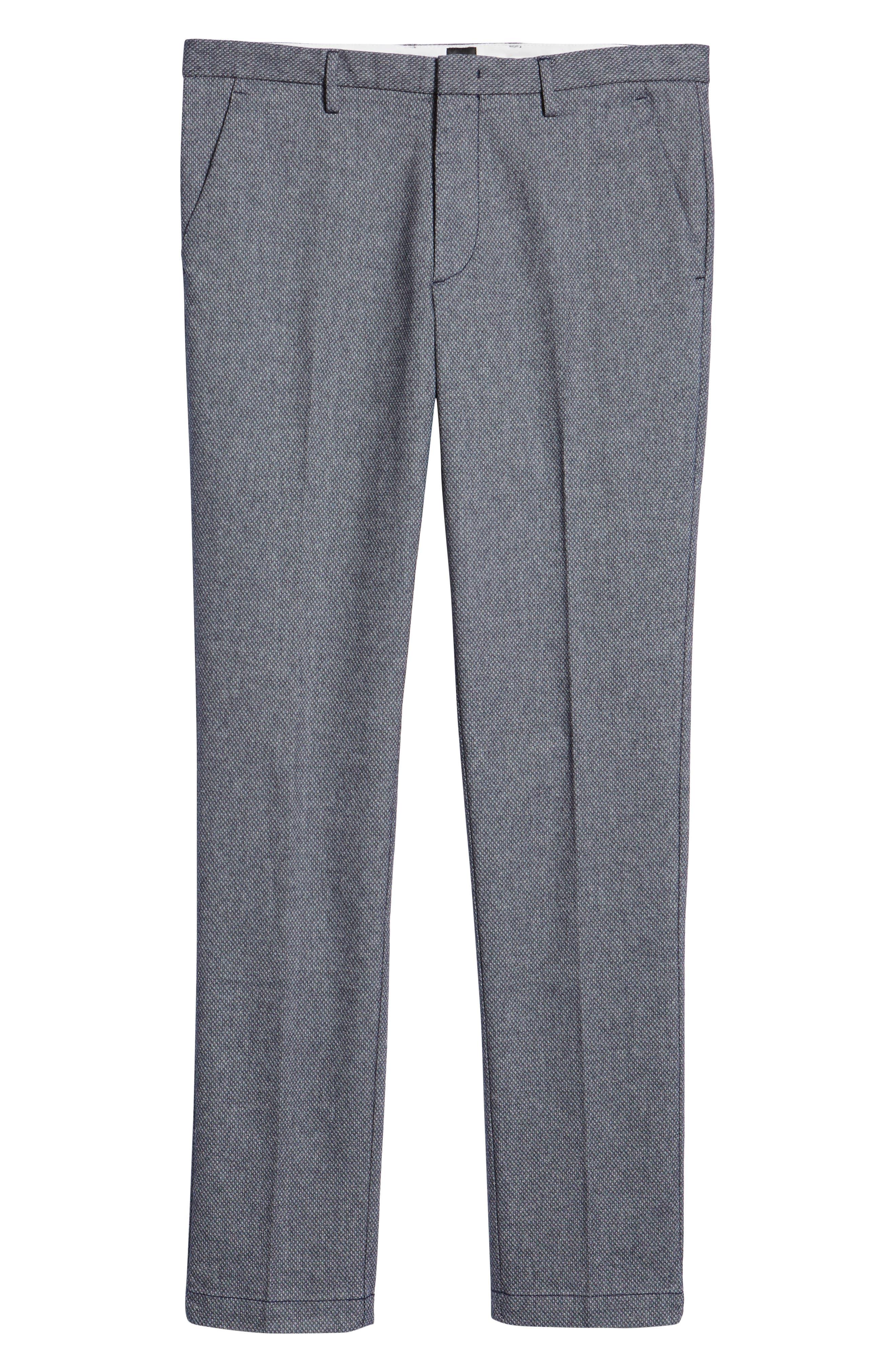 Kaito Slim Fit Pants,                             Alternate thumbnail 6, color,                             NAVY