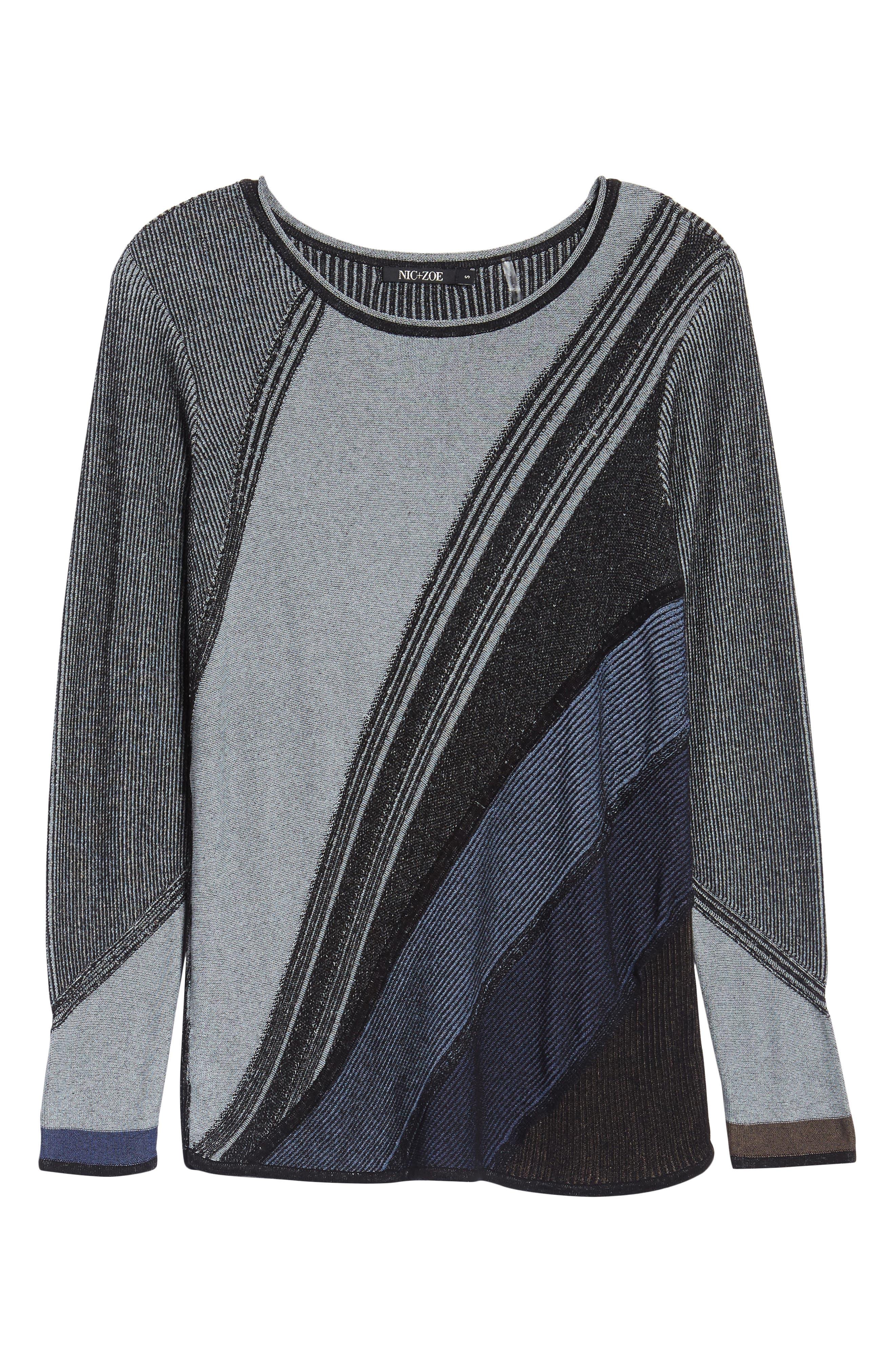 Blue Horizon Knit Top,                             Alternate thumbnail 6, color,                             499