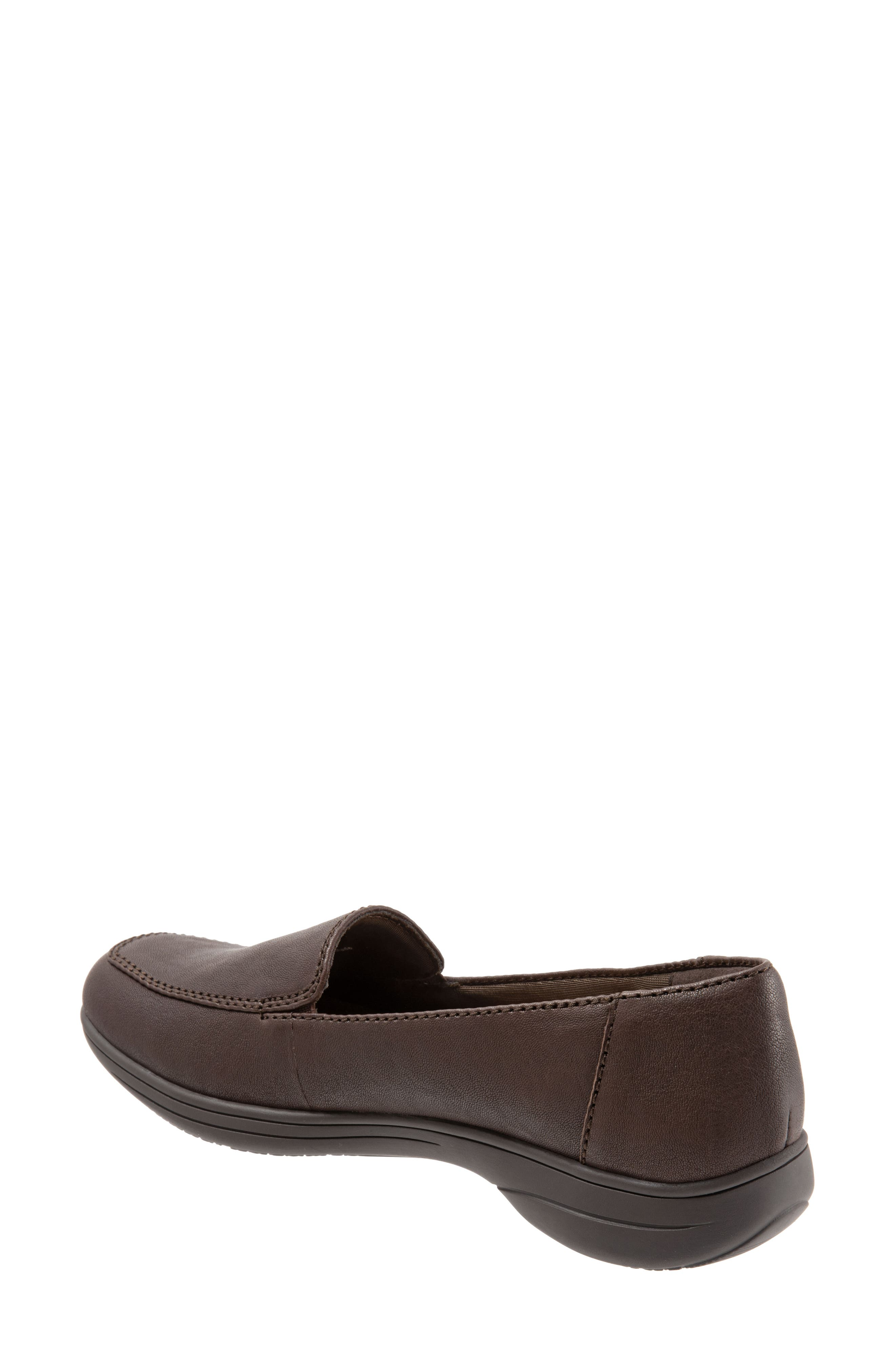Jacob Loafer,                             Alternate thumbnail 2, color,                             DARK BROWN LEATHER