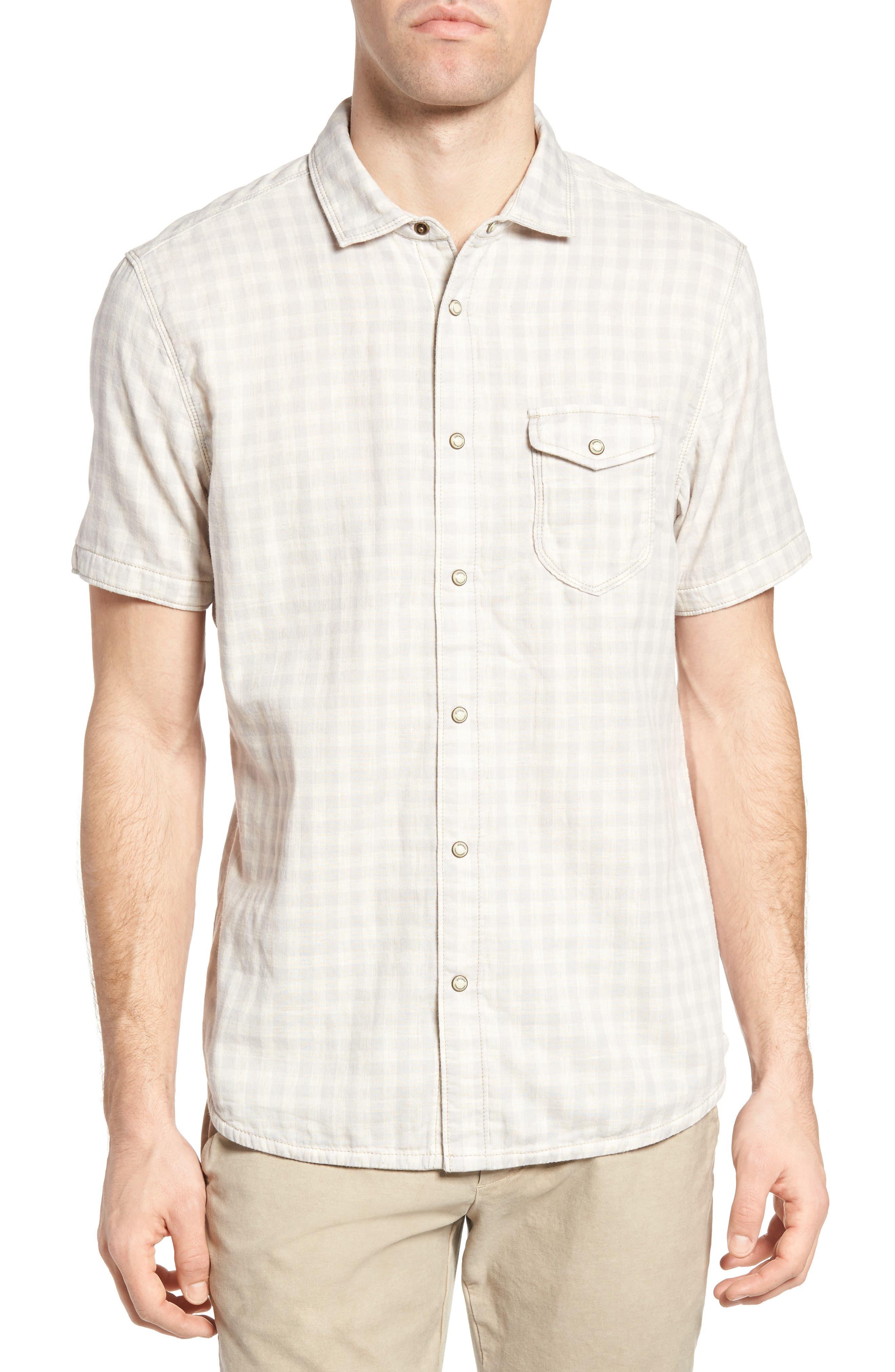 Graham Reversible Plaid Sport Shirt,                         Main,                         color, 271