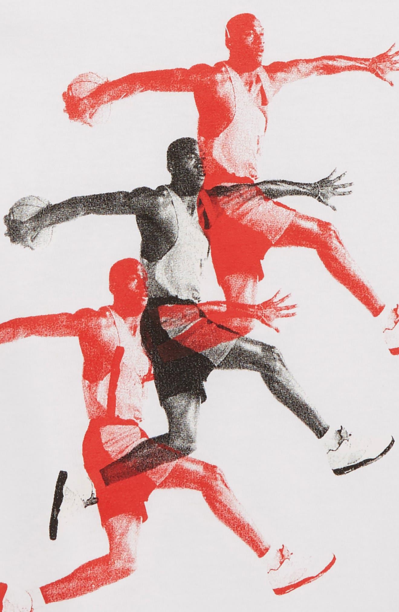 Jordan Basketball T-Shirt,                             Alternate thumbnail 2, color,                             100