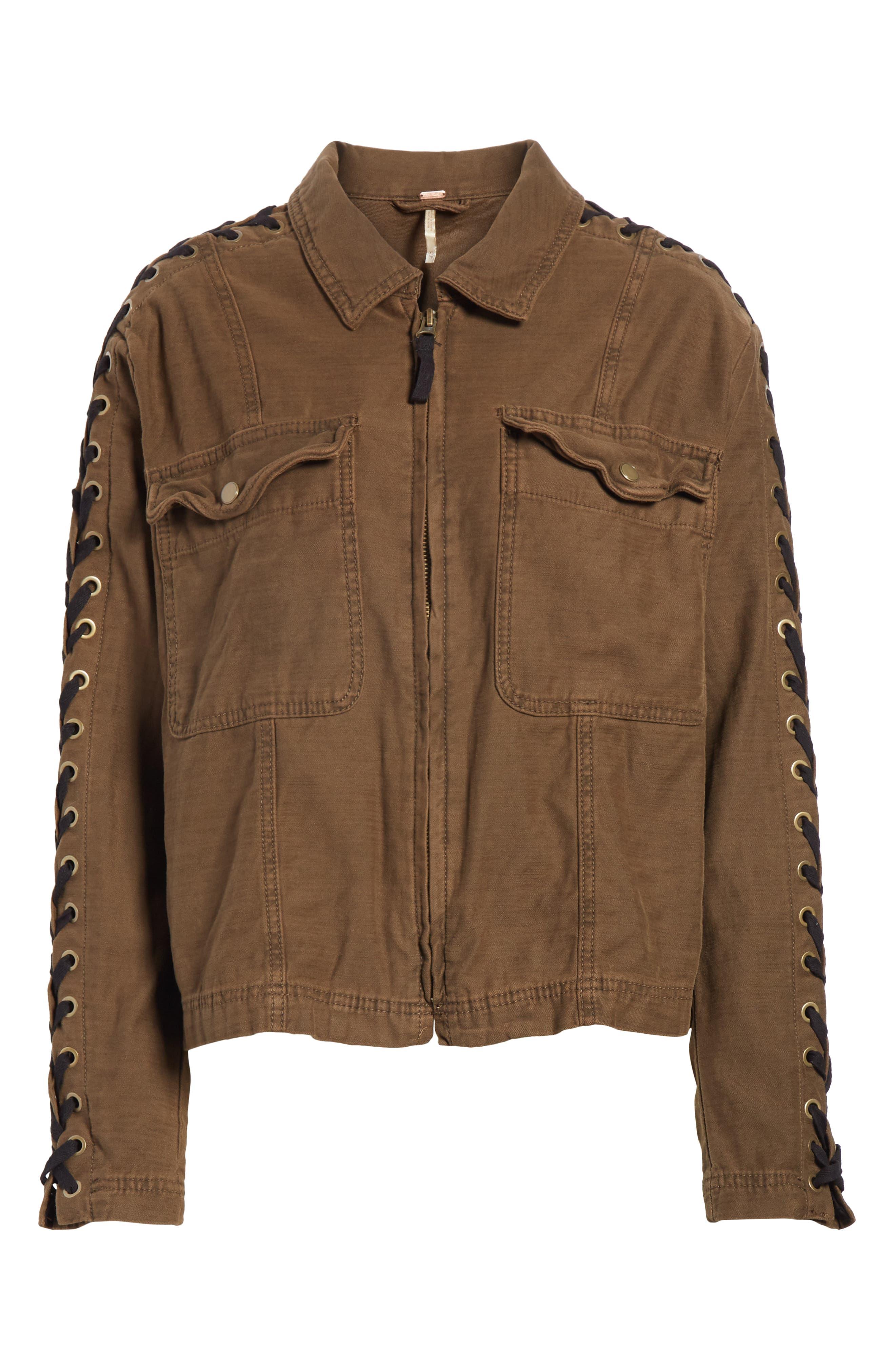 Faye Military Jacket,                             Alternate thumbnail 10, color,