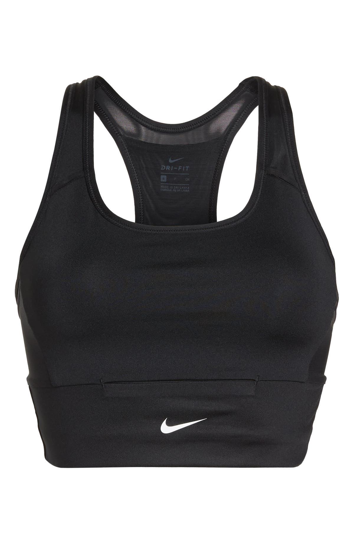 44e8bbd160465 Nike Swoosh Pocket Sports Bra