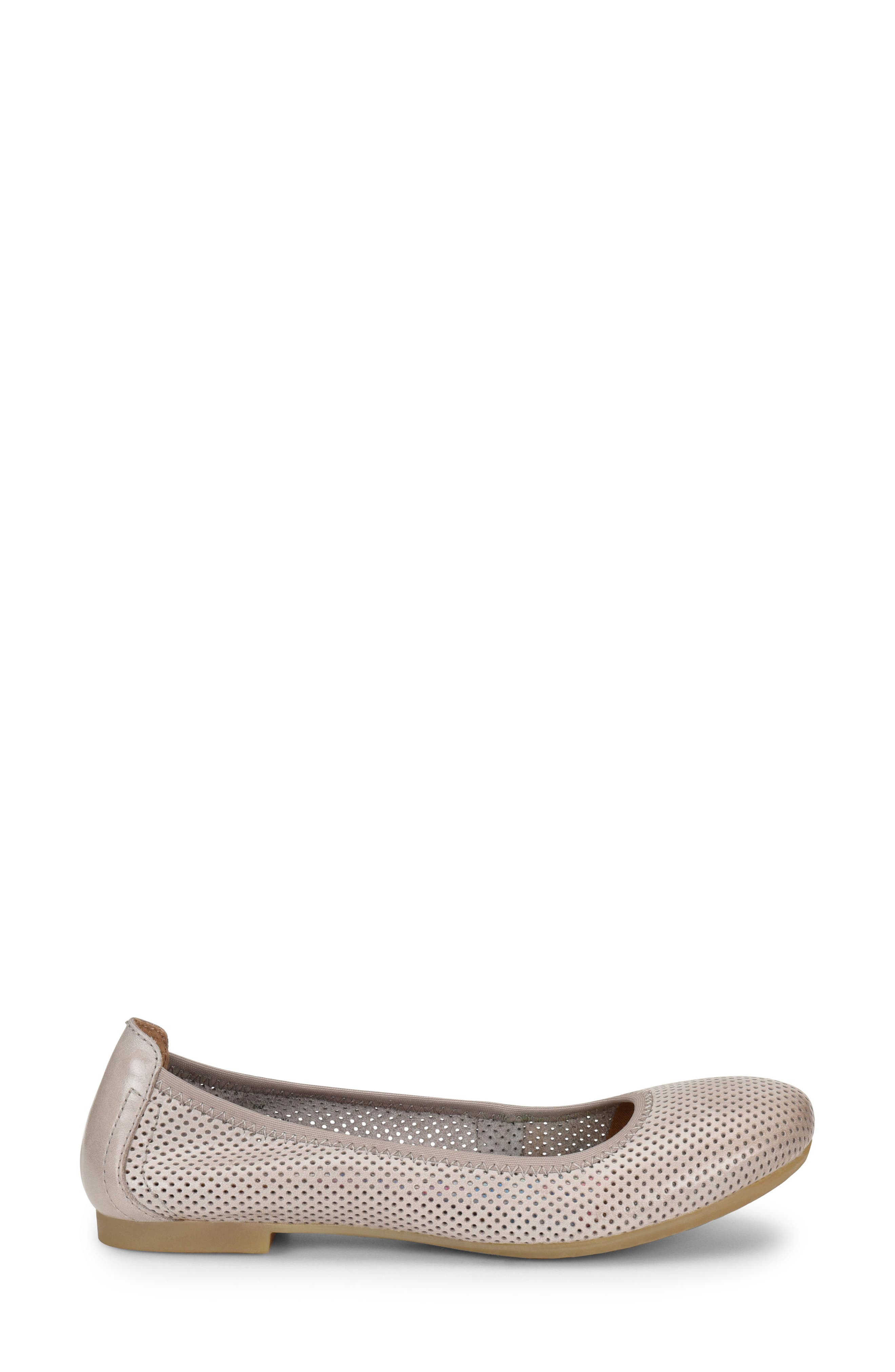 Julianne Perforated Flat,                             Alternate thumbnail 10, color,