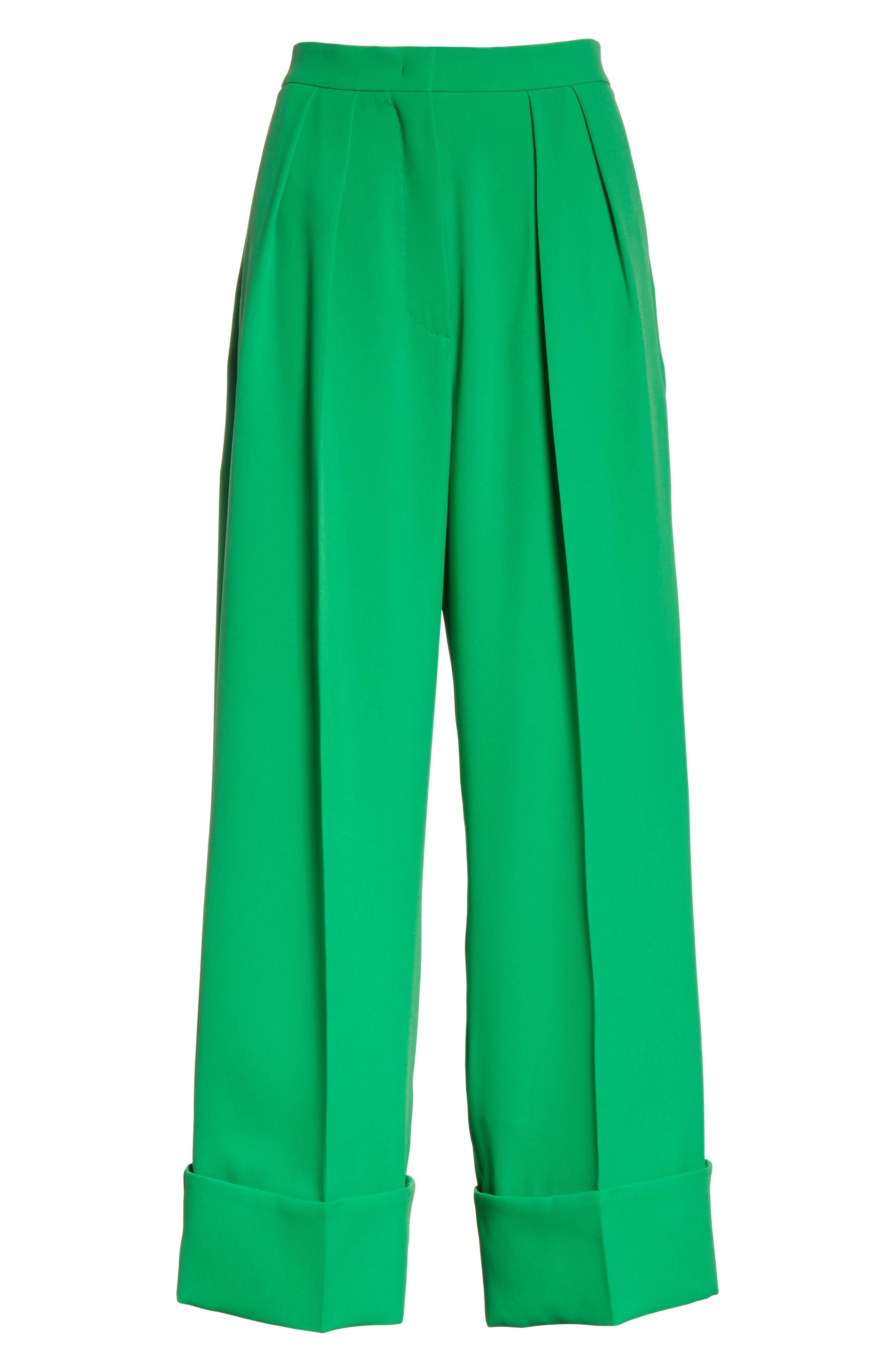 High Waist Crop Pants,                             Alternate thumbnail 6, color,                             300