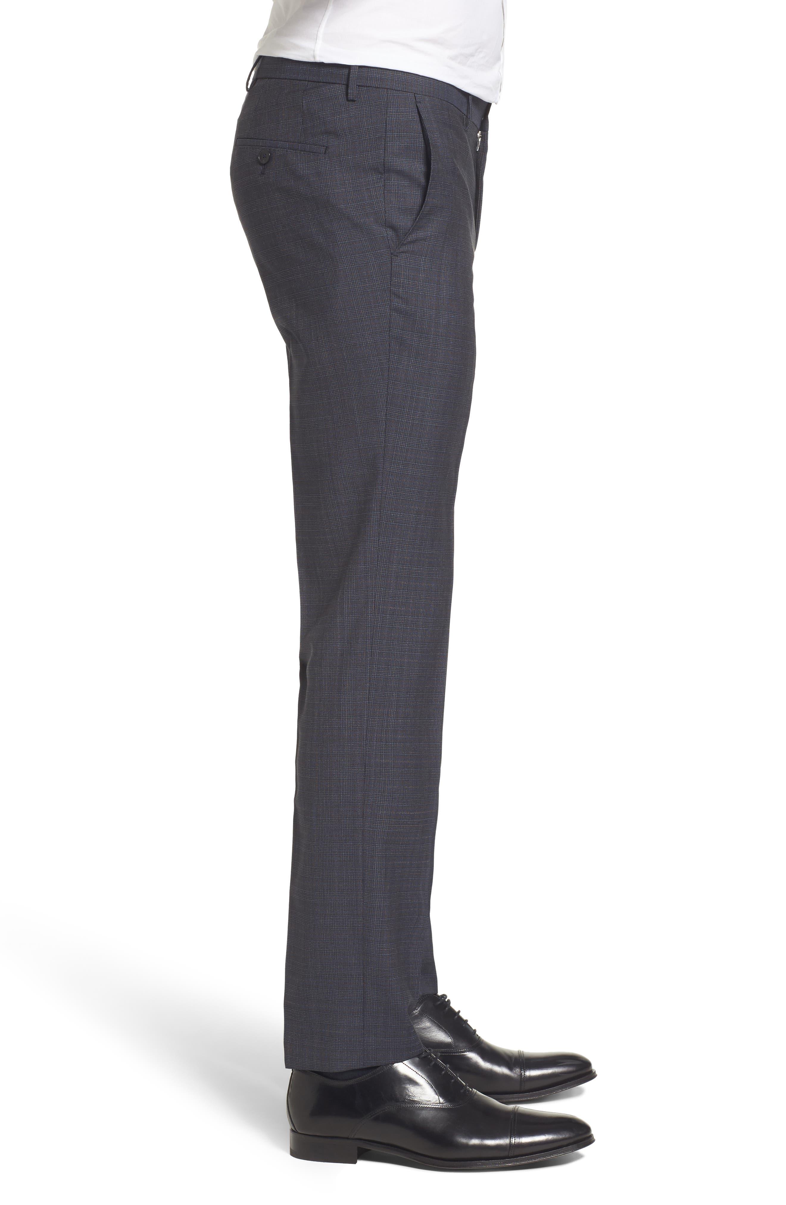 Benso Regular Fit Trousers,                             Alternate thumbnail 4, color,                             410