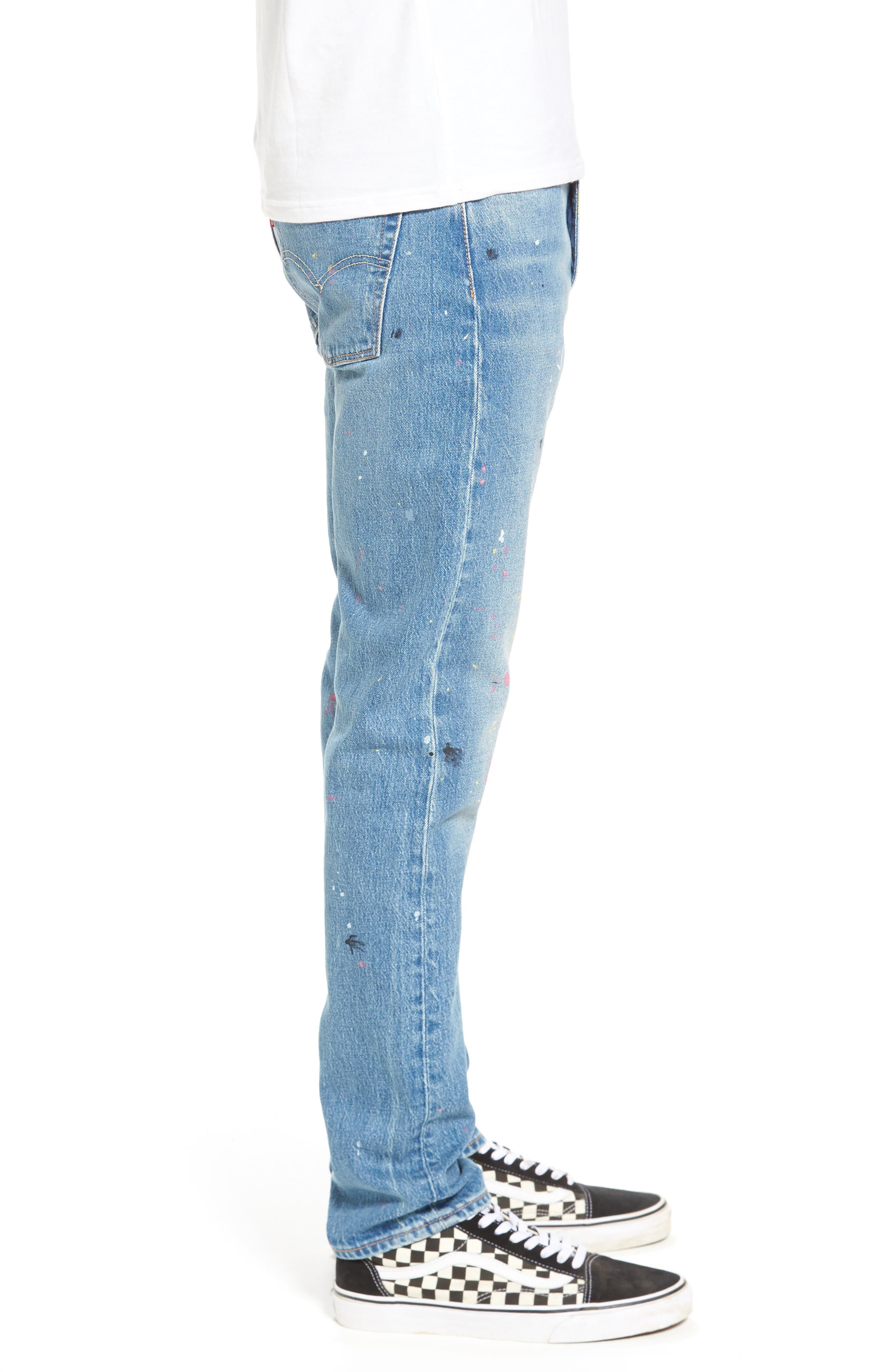 LEVI'S<SUP>®</SUP>,                             510<sup>™</sup> Skinny Fit Jeans,                             Alternate thumbnail 3, color,                             421