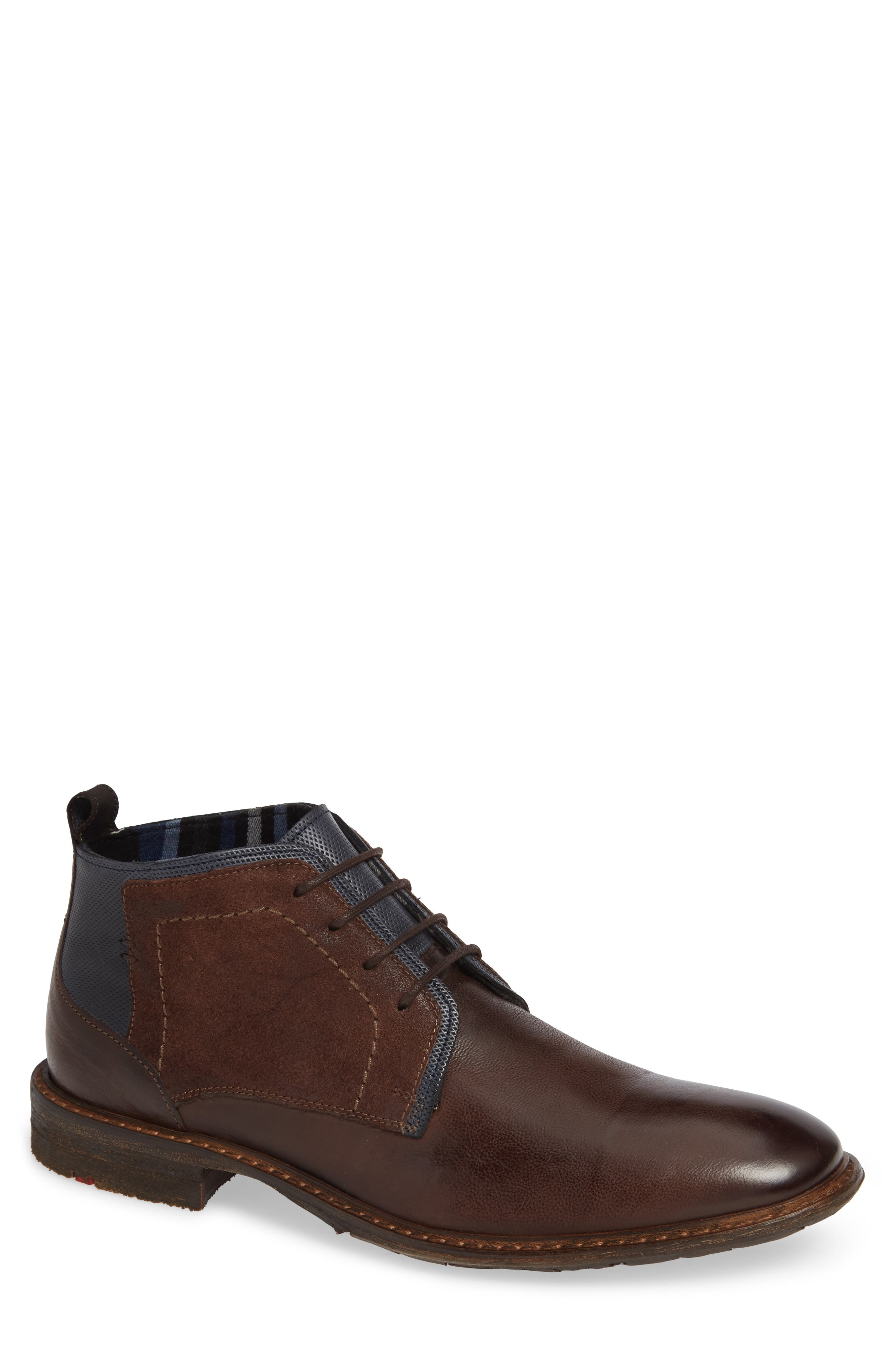 Dingo Plain Toe Boot,                         Main,                         color, TOBACCO LEATHER