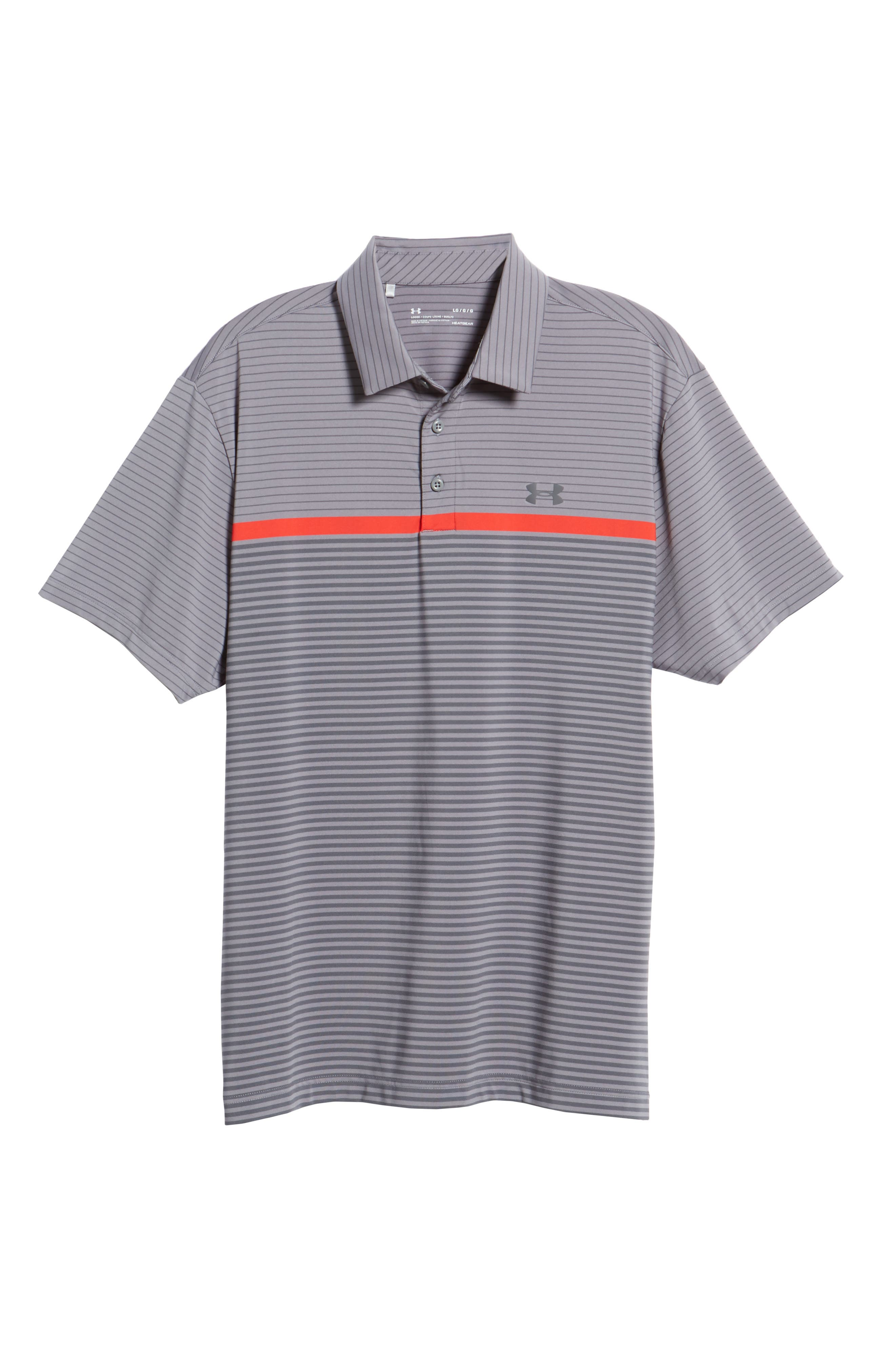 'Playoff' Loose Fit Short Sleeve Polo,                             Alternate thumbnail 6, color,                             020