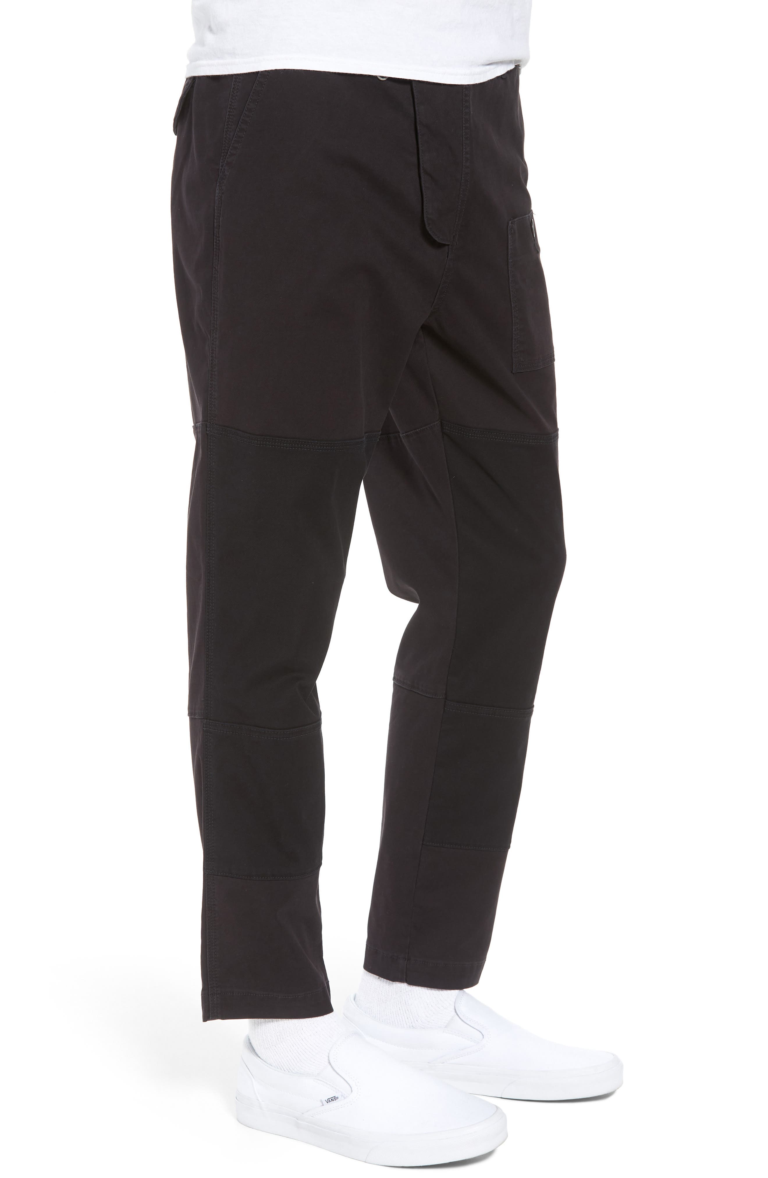 HUDSON JEANS,                             Slouchy Slim Fit Cargo Pants,                             Alternate thumbnail 3, color,                             001