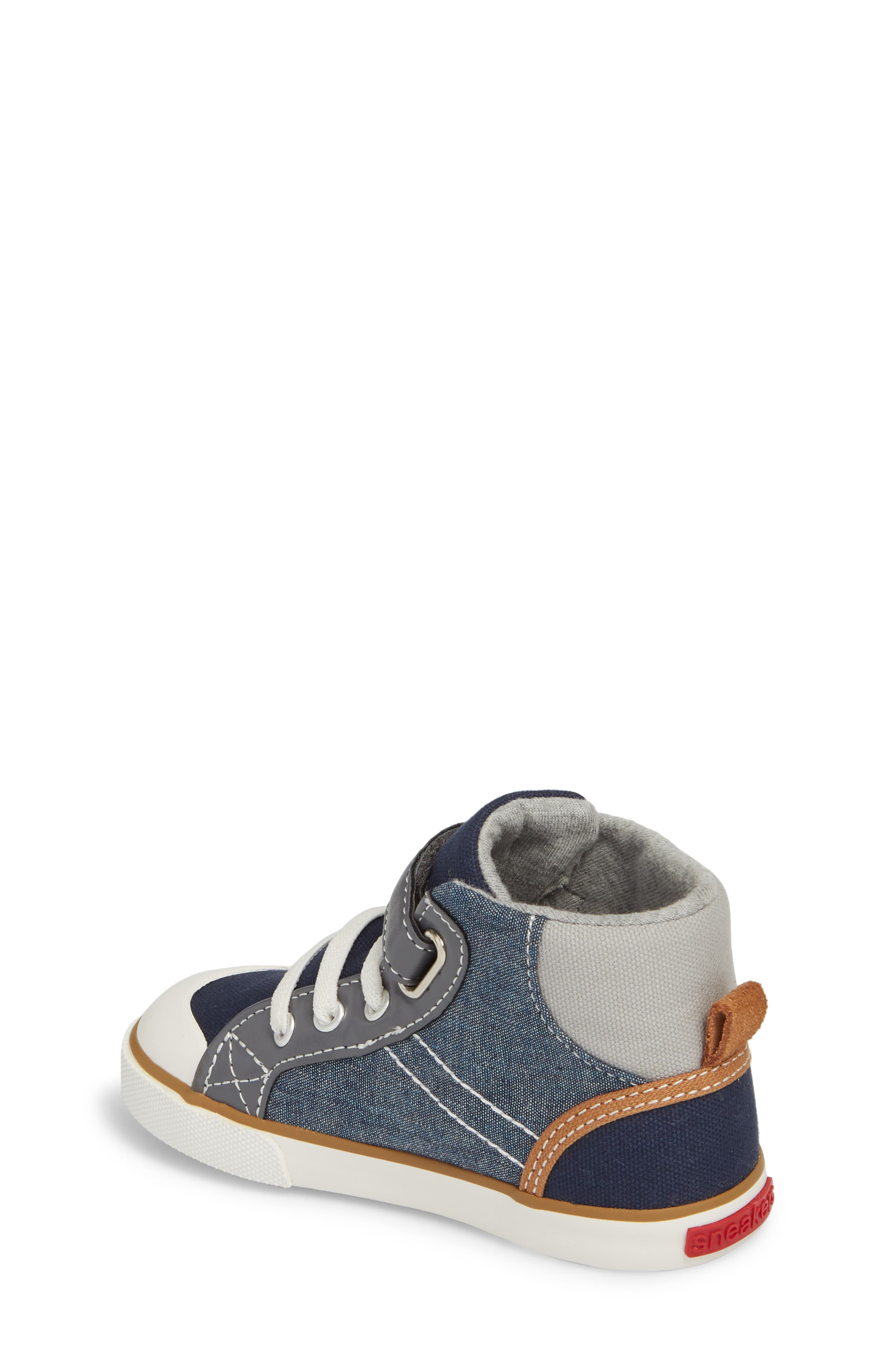 Dane Sneaker,                             Alternate thumbnail 2, color,                             CHAMBRAY MULTI