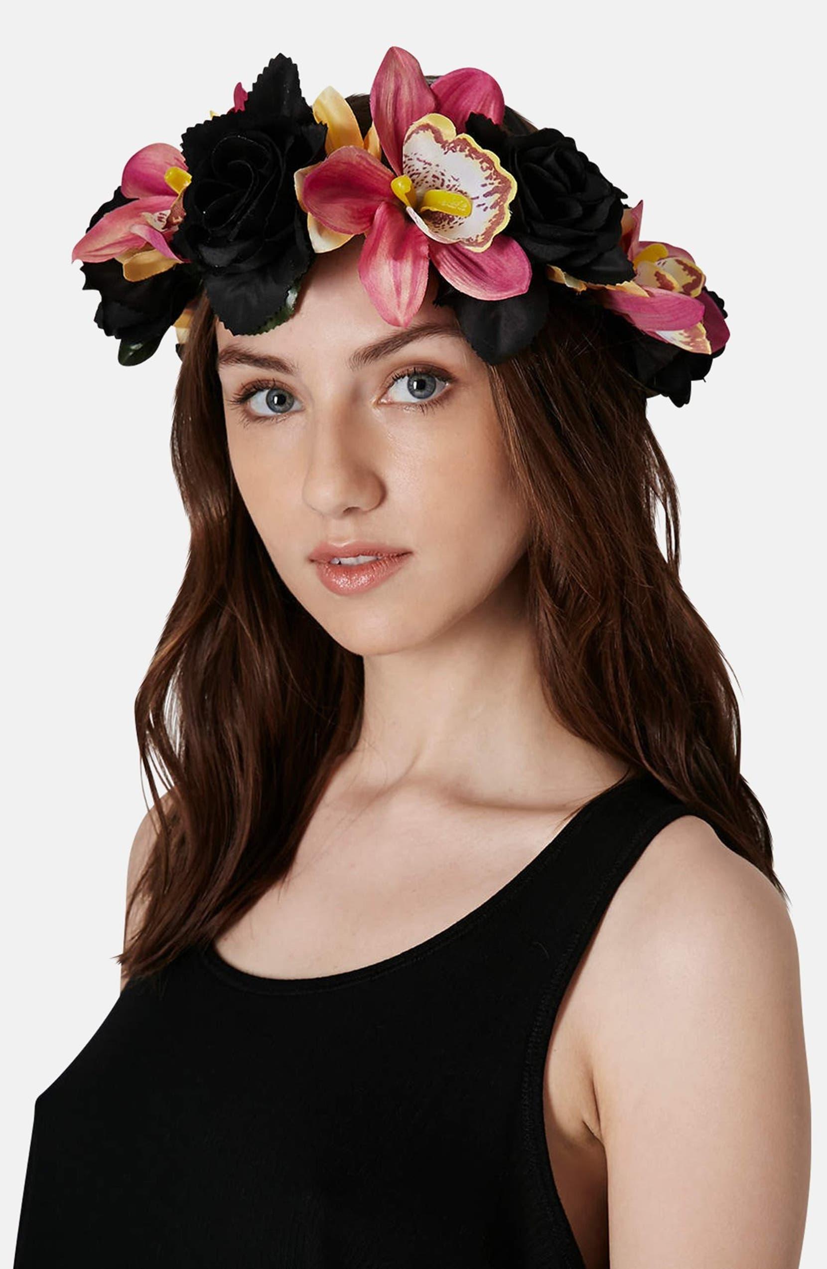 Topshop Flower Crown Headband Nordstrom