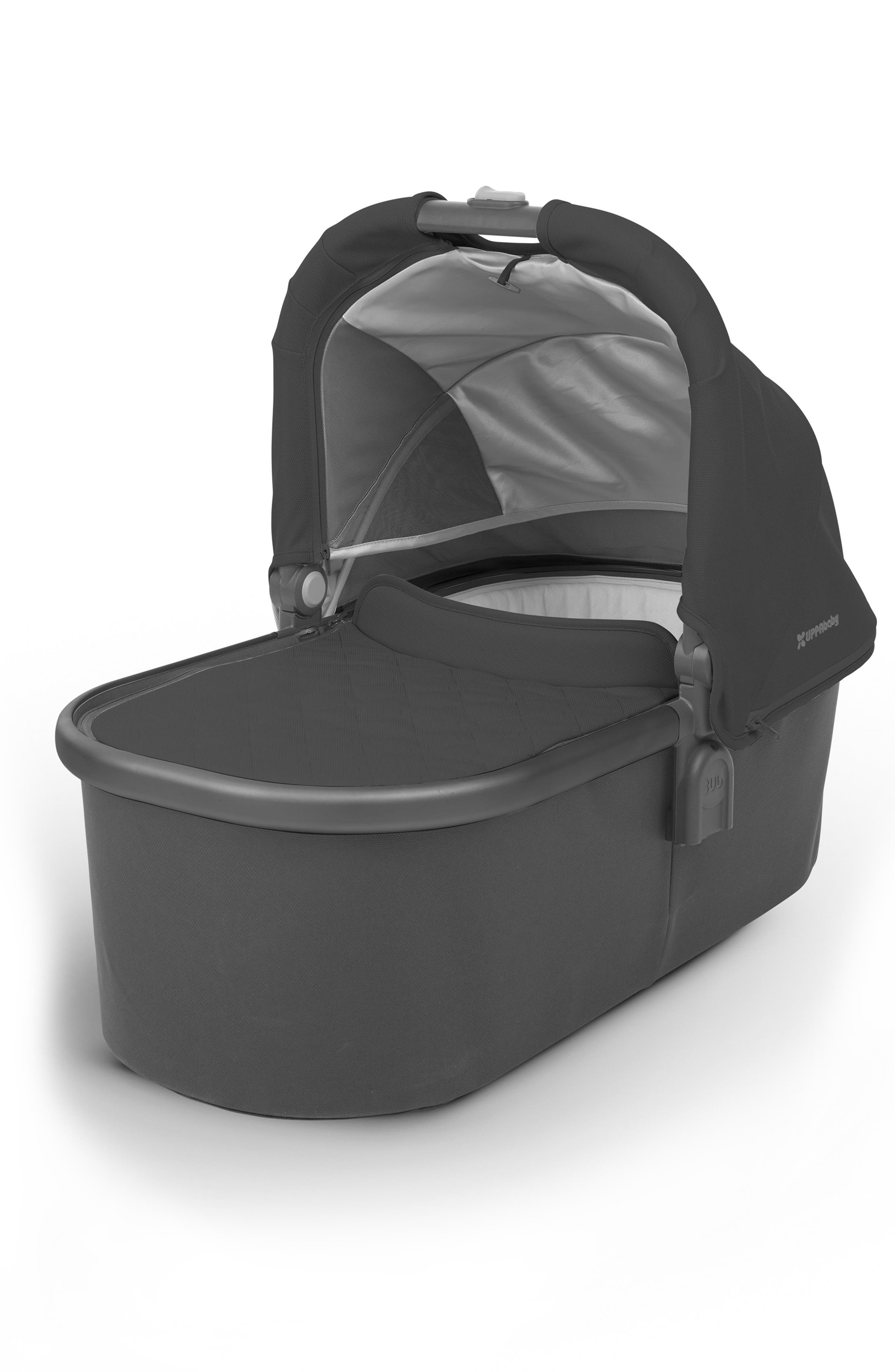 2018 Bassinet for CRUZ or VISTA Strollers,                         Main,                         color, JAKE BLACK/ CARBON