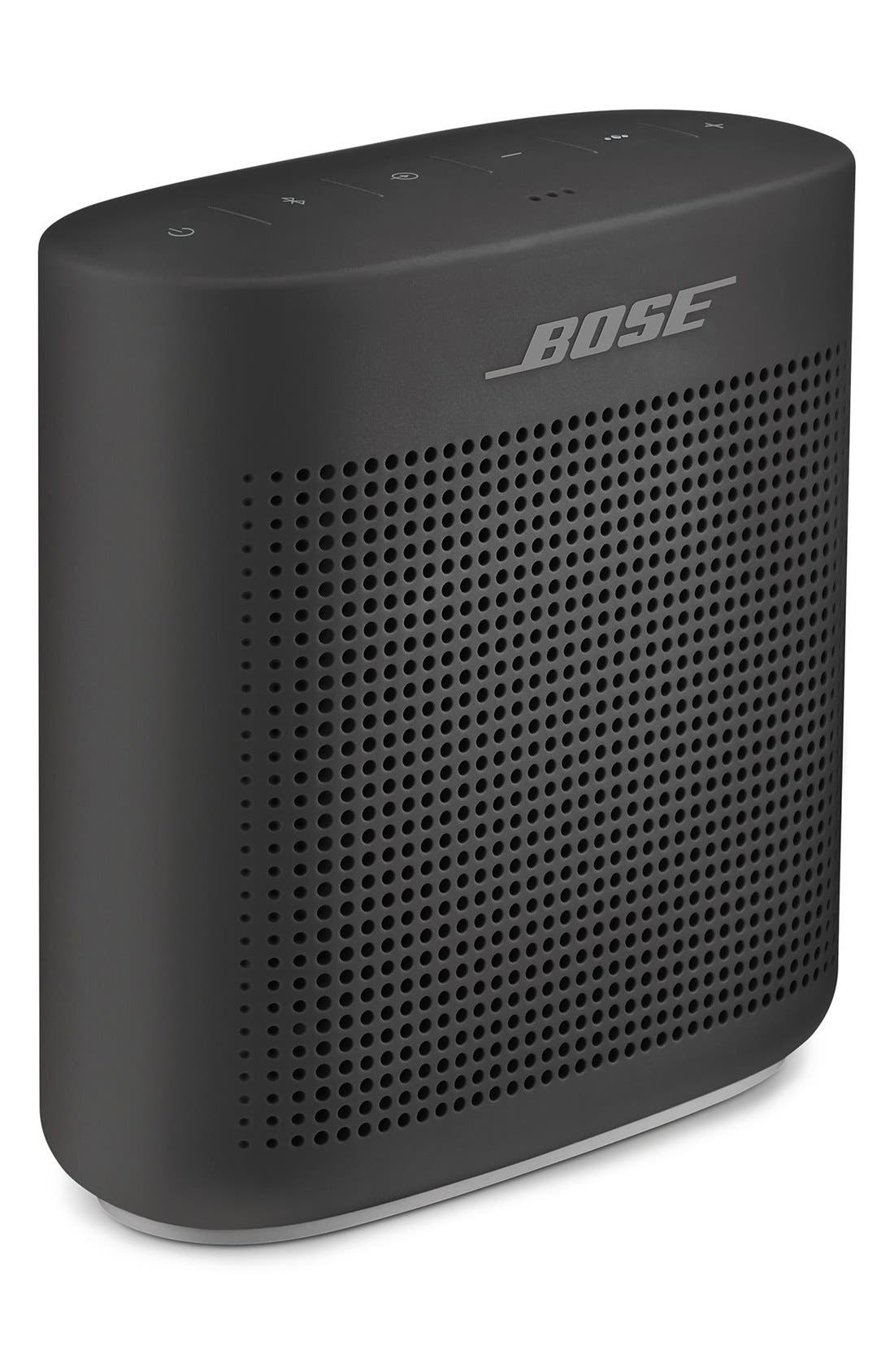 BOSE<SUP>®</SUP>,                             SoundLink<sup>®</sup> Color Bluetooth<sup>®</sup> Speaker II,                             Alternate thumbnail 3, color,                             SOFT BLACK