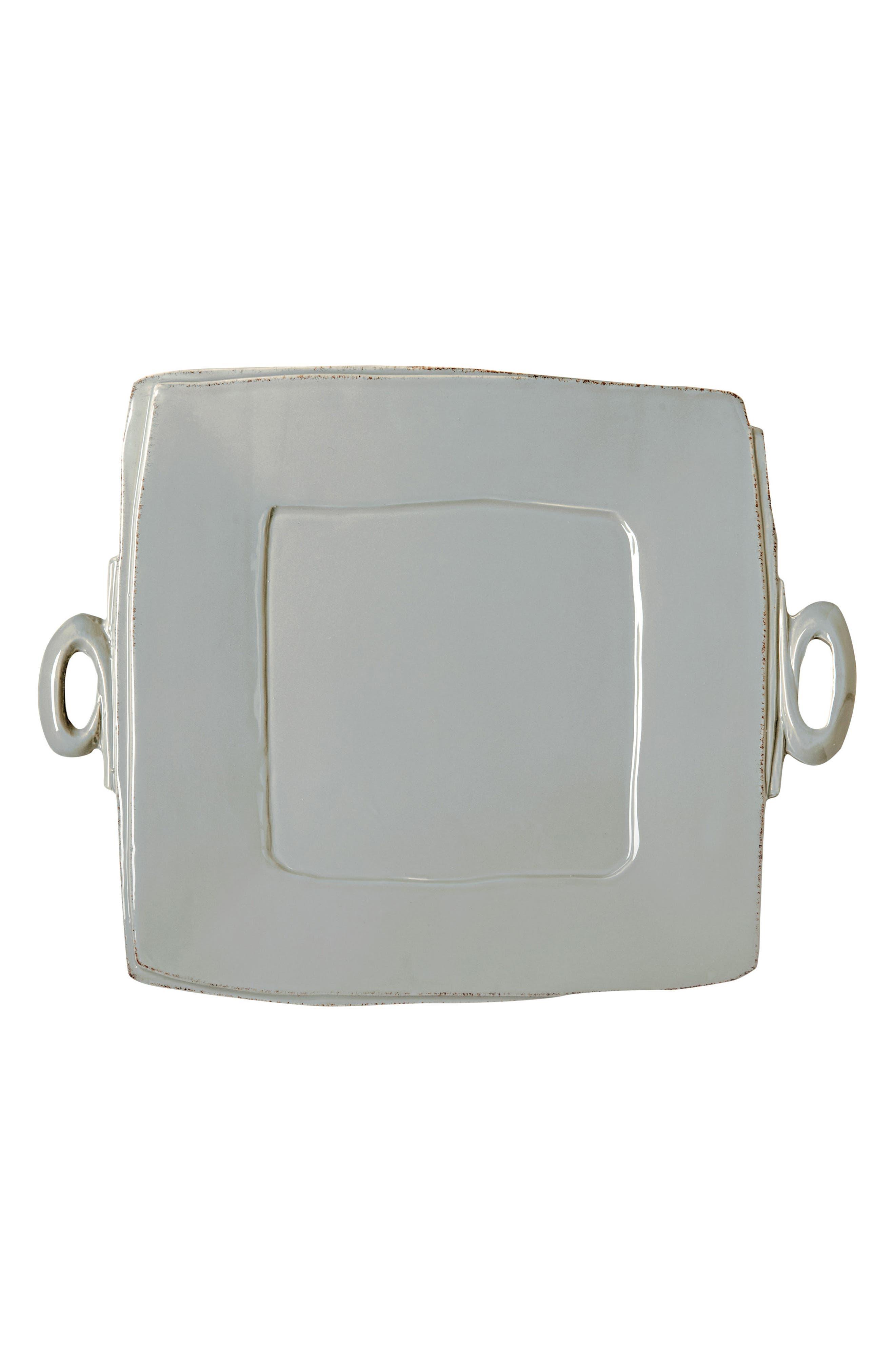 Lastra Square Platter,                         Main,                         color, GRAY