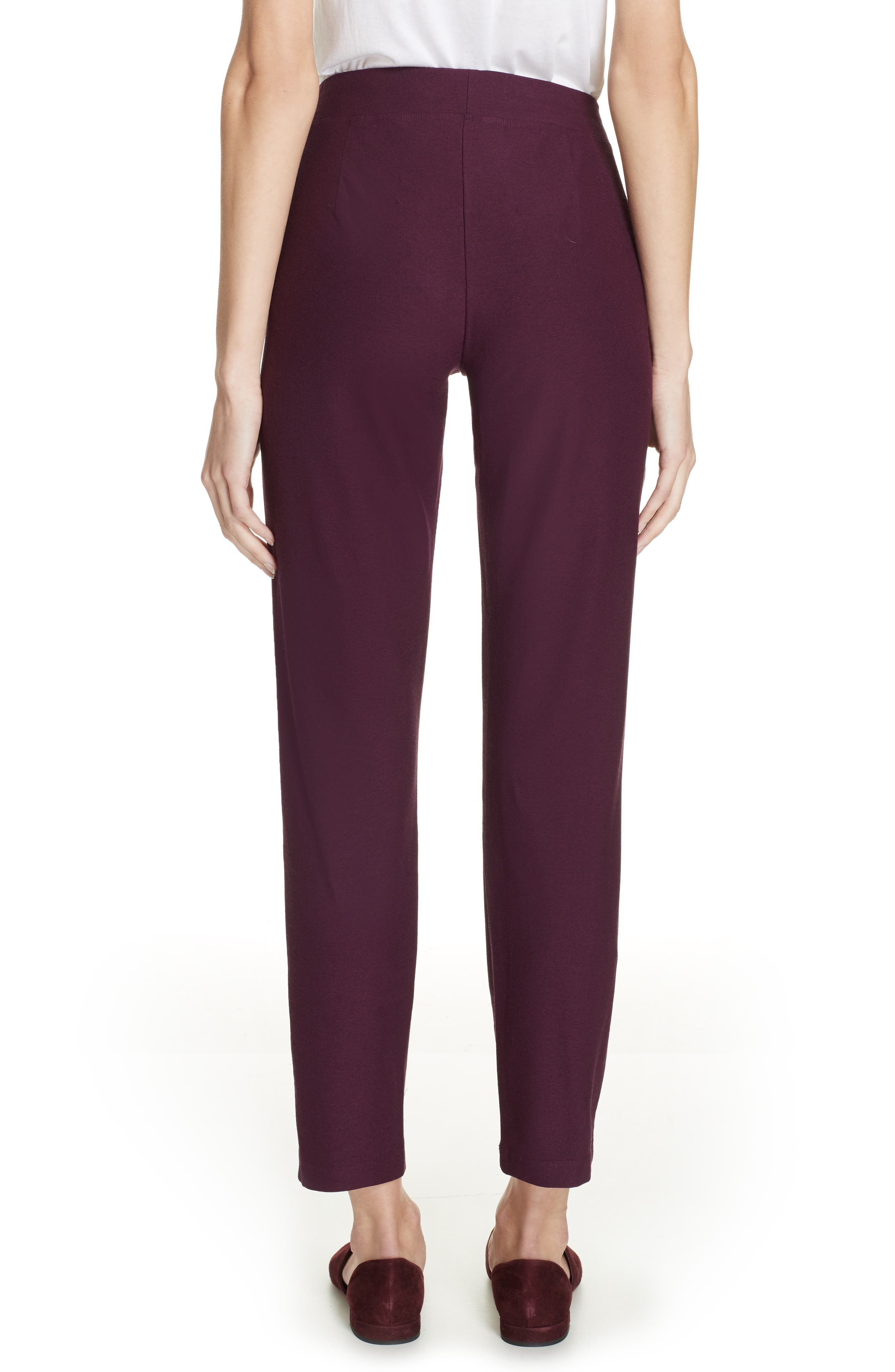 Stretch Crepe Slim Ankle Pants,                             Alternate thumbnail 2, color,                             504
