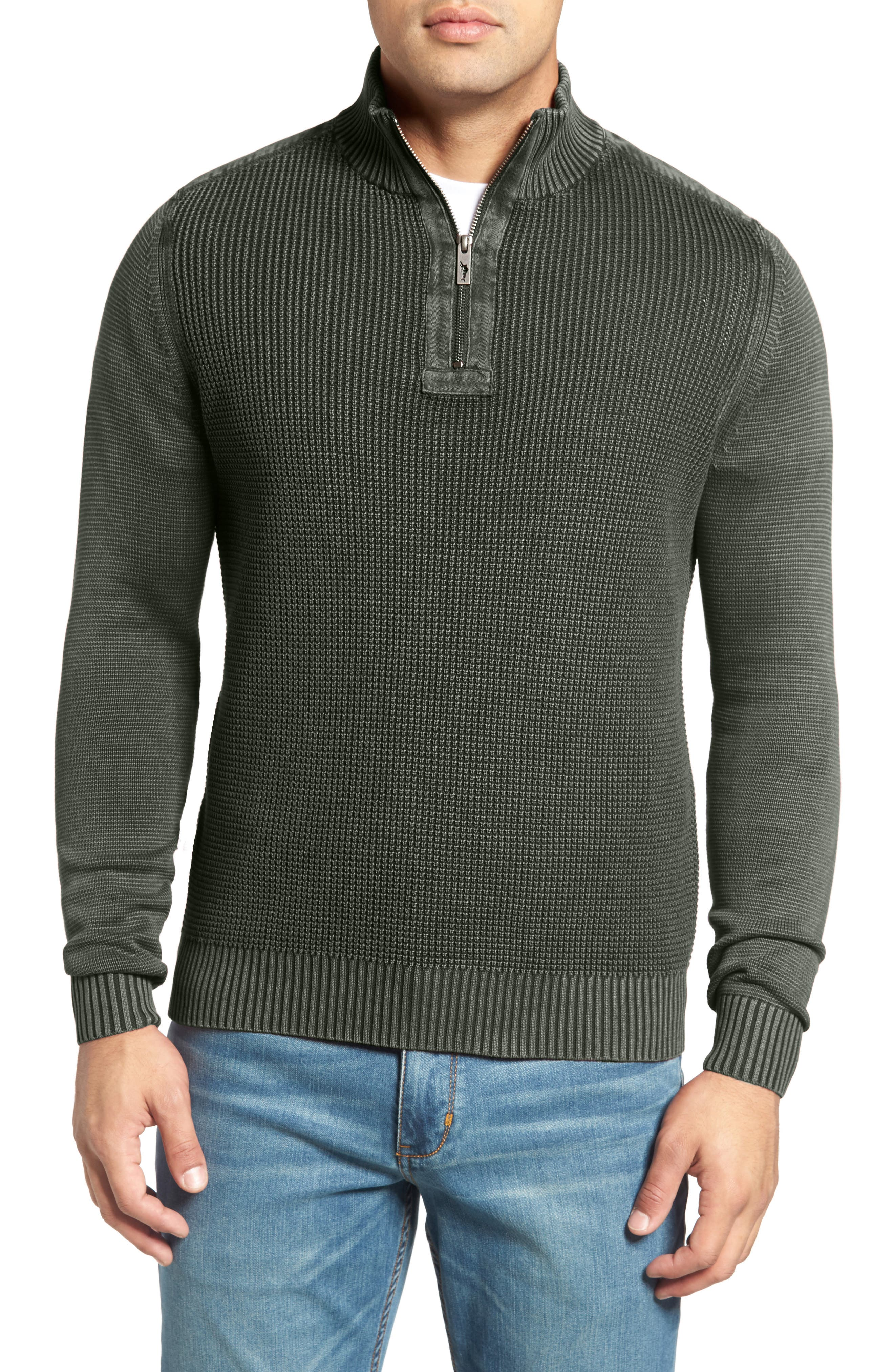 Coastal Shores Quarter Zip Sweater,                             Alternate thumbnail 12, color,