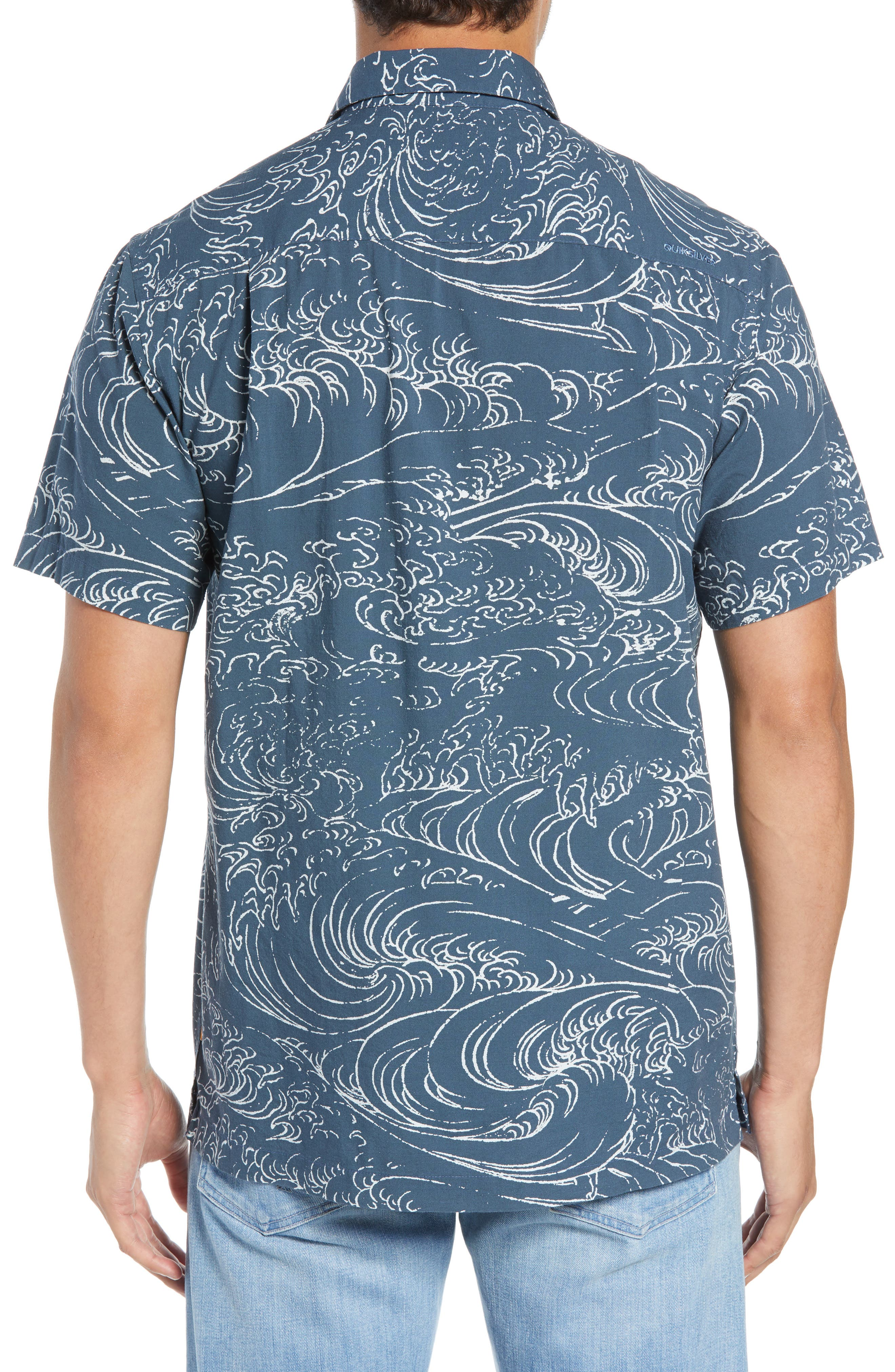 Wind & Waves Regular Fit Sport Shirt,                             Alternate thumbnail 3, color,                             400