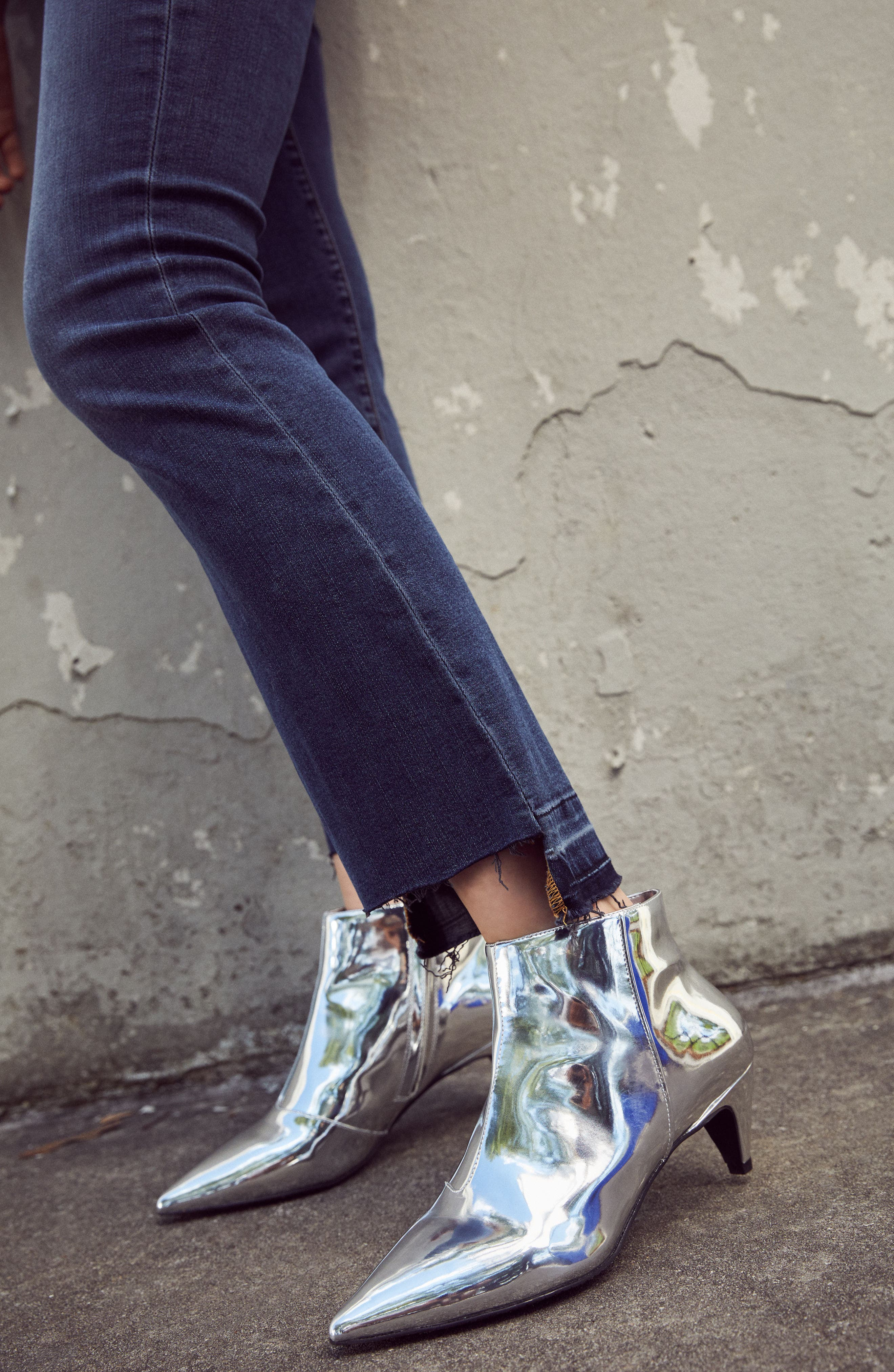 Major Pointy Toe Bootie,                             Alternate thumbnail 9, color,                             003