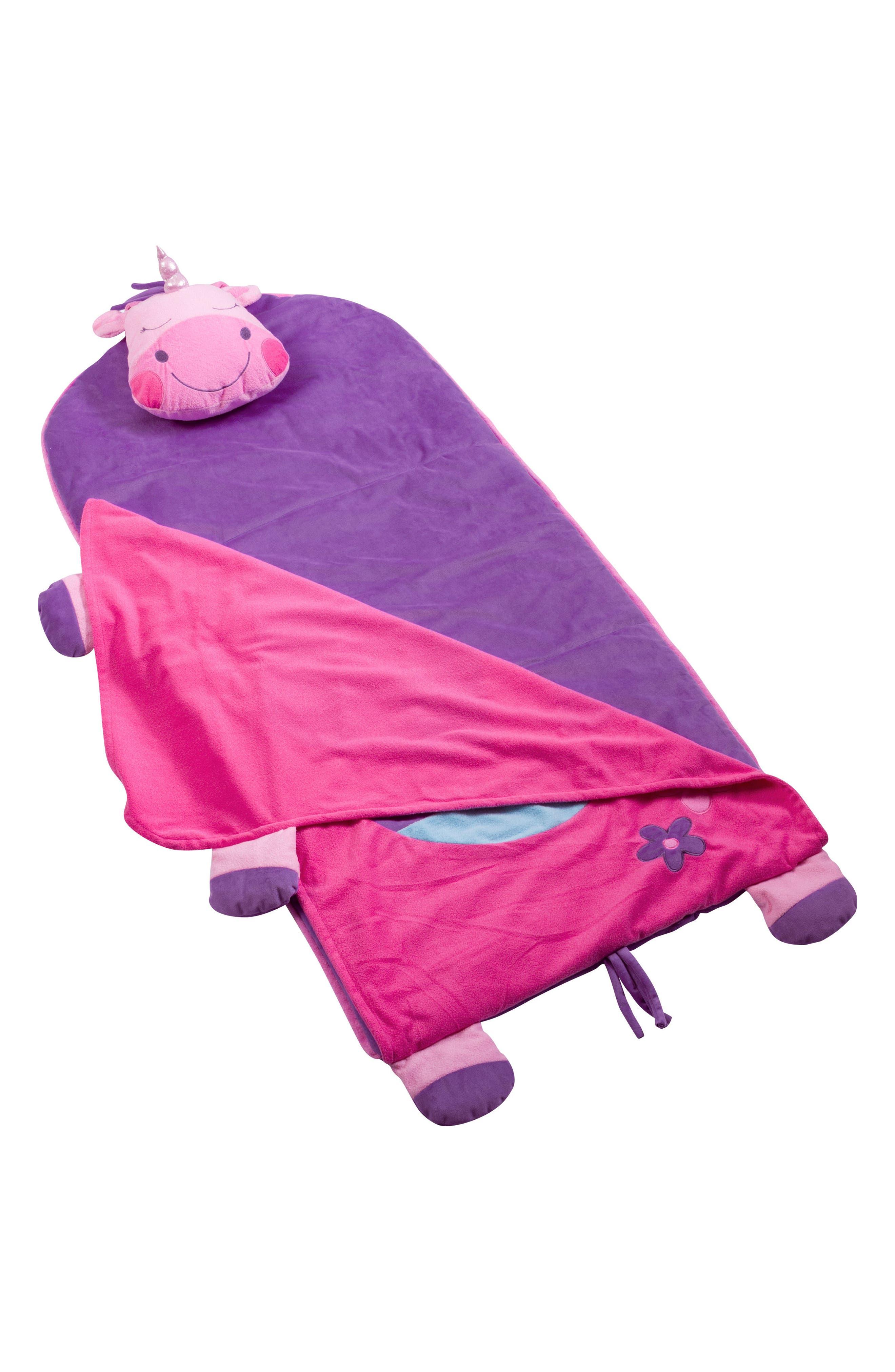Portable Nap Mat, Pillow & Blanket,                             Alternate thumbnail 2, color,                             UNICORN