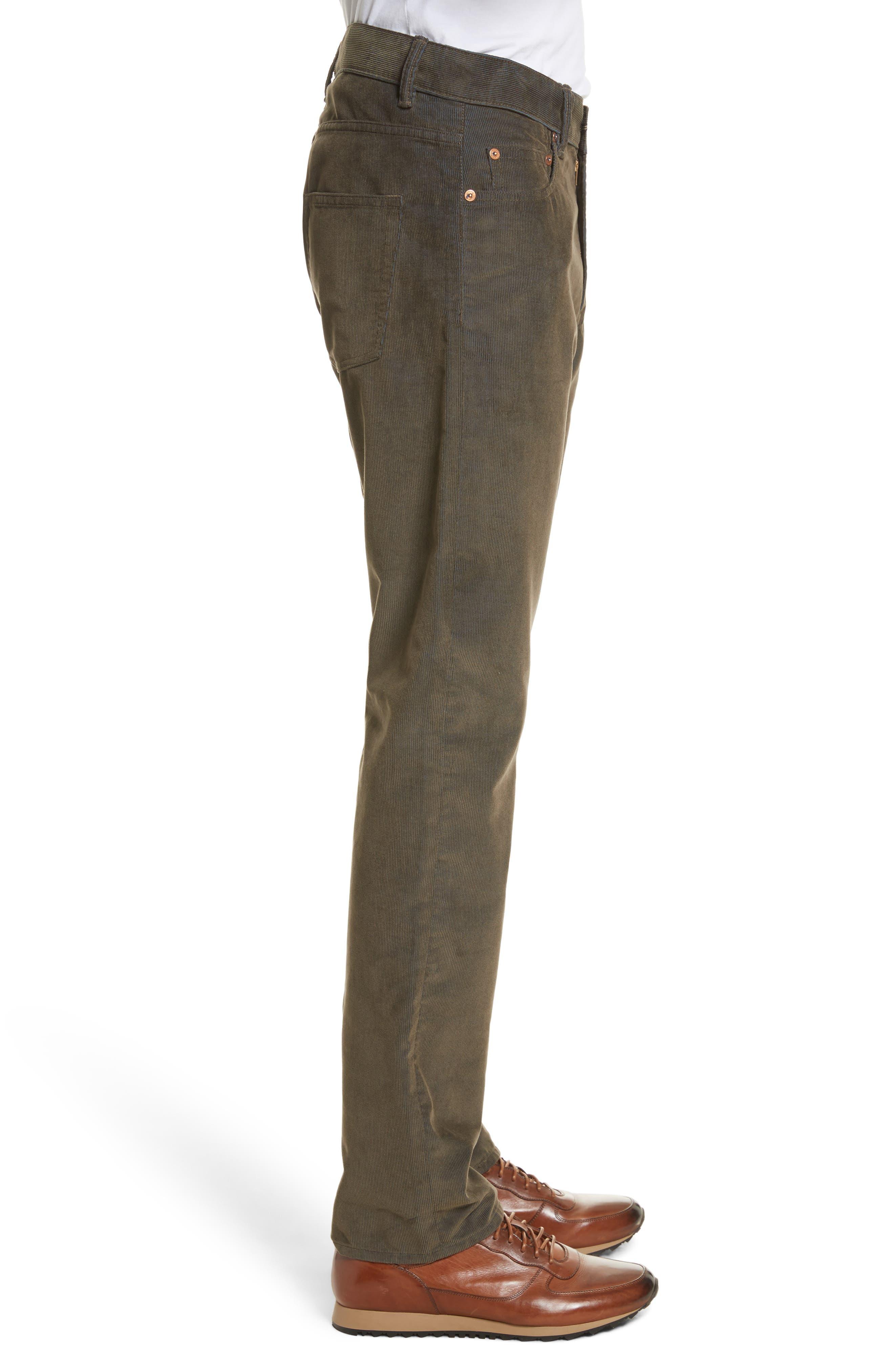 Second Cut Sludge Corduroy Pants,                             Alternate thumbnail 3, color,                             301