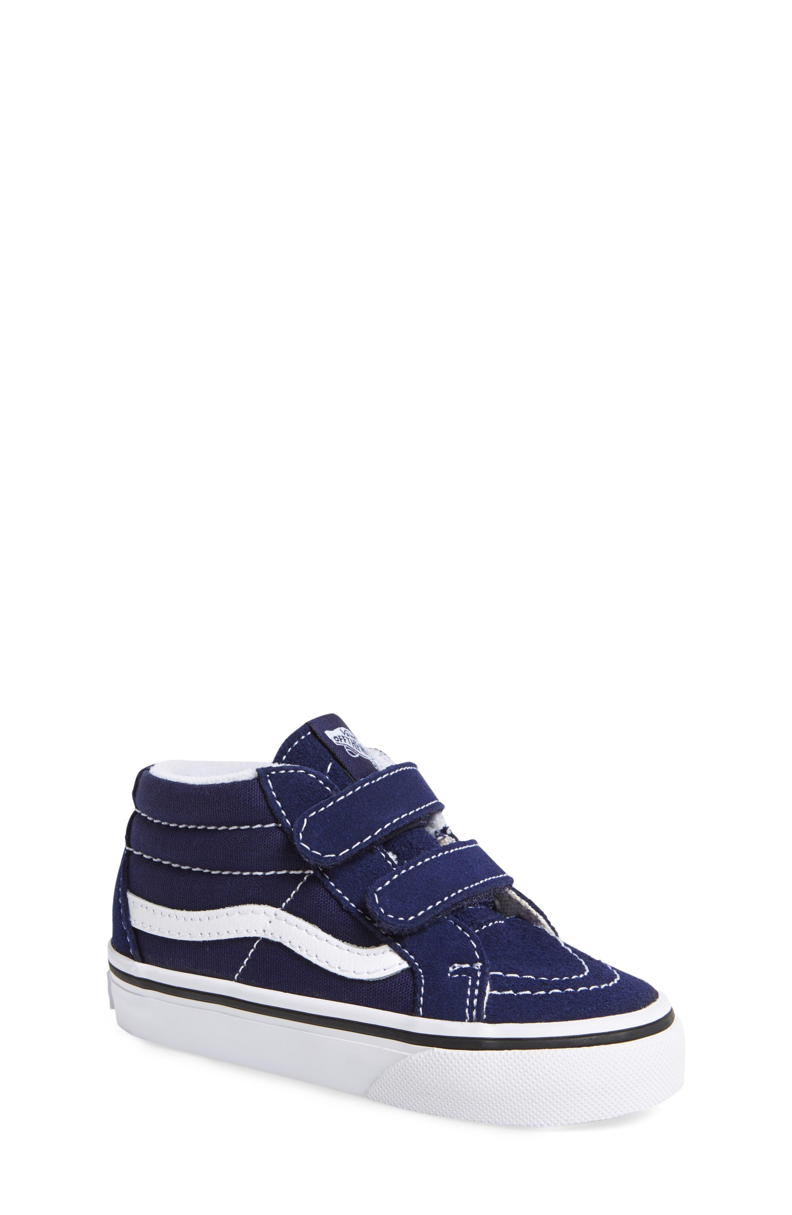 'Sk8-Hi Reissue V' Sneaker,                             Alternate thumbnail 4, color,                             PATRIOT BLUE/ TRUE WHITE