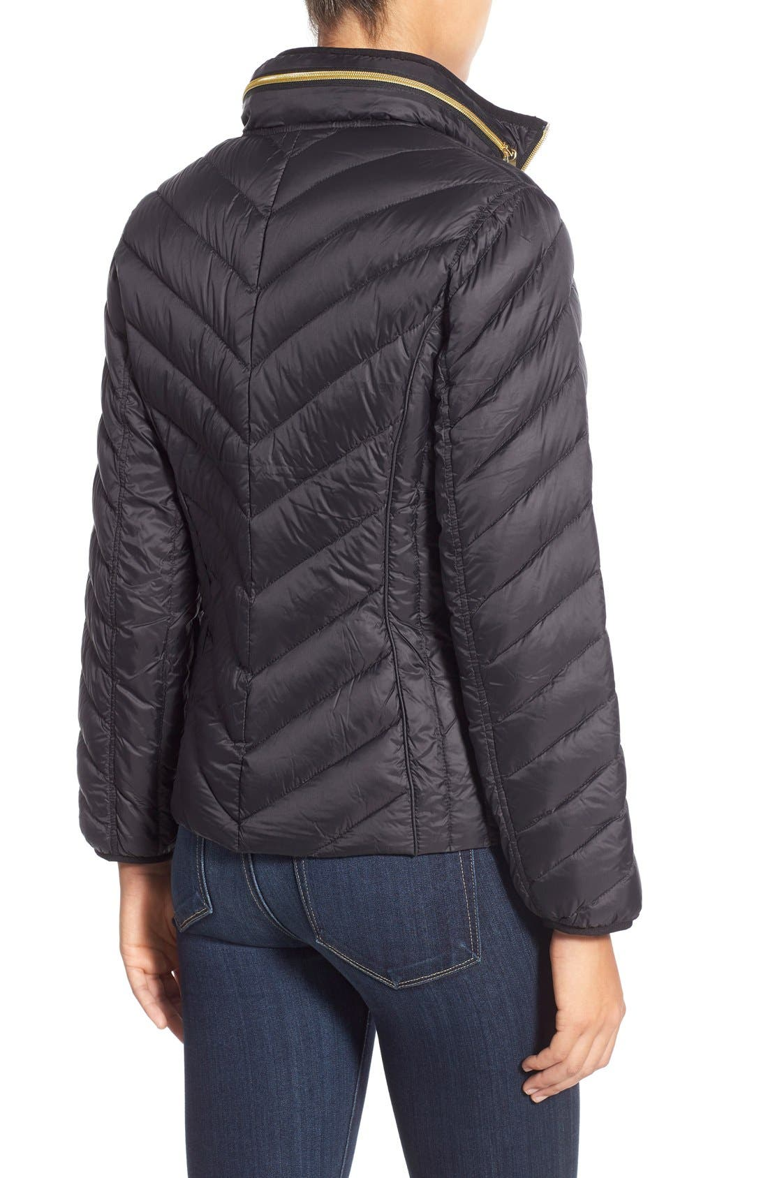 Packable Down Jacket,                             Alternate thumbnail 4, color,                             001
