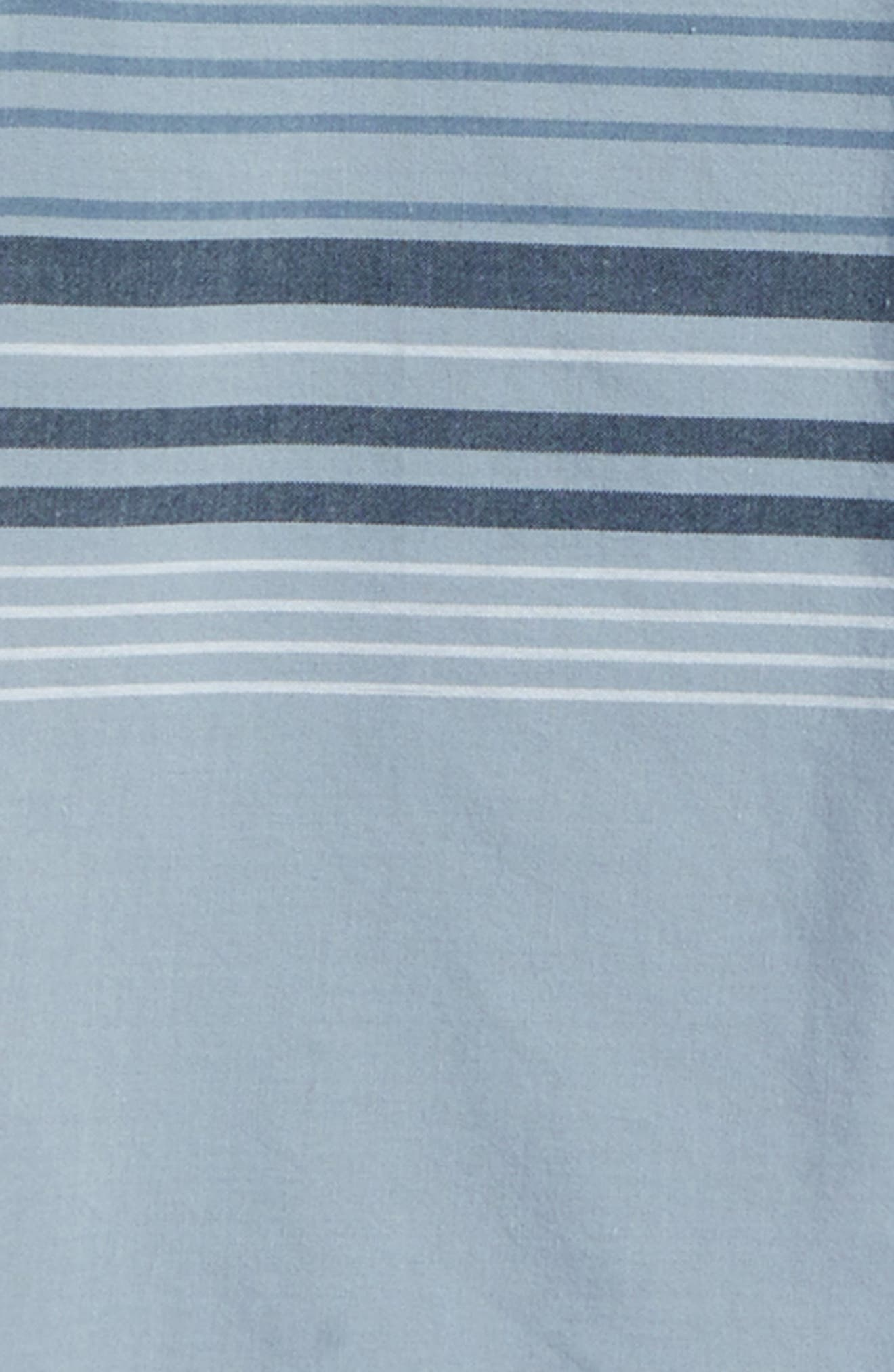 Serf Striped Woven Shirt,                             Alternate thumbnail 6, color,