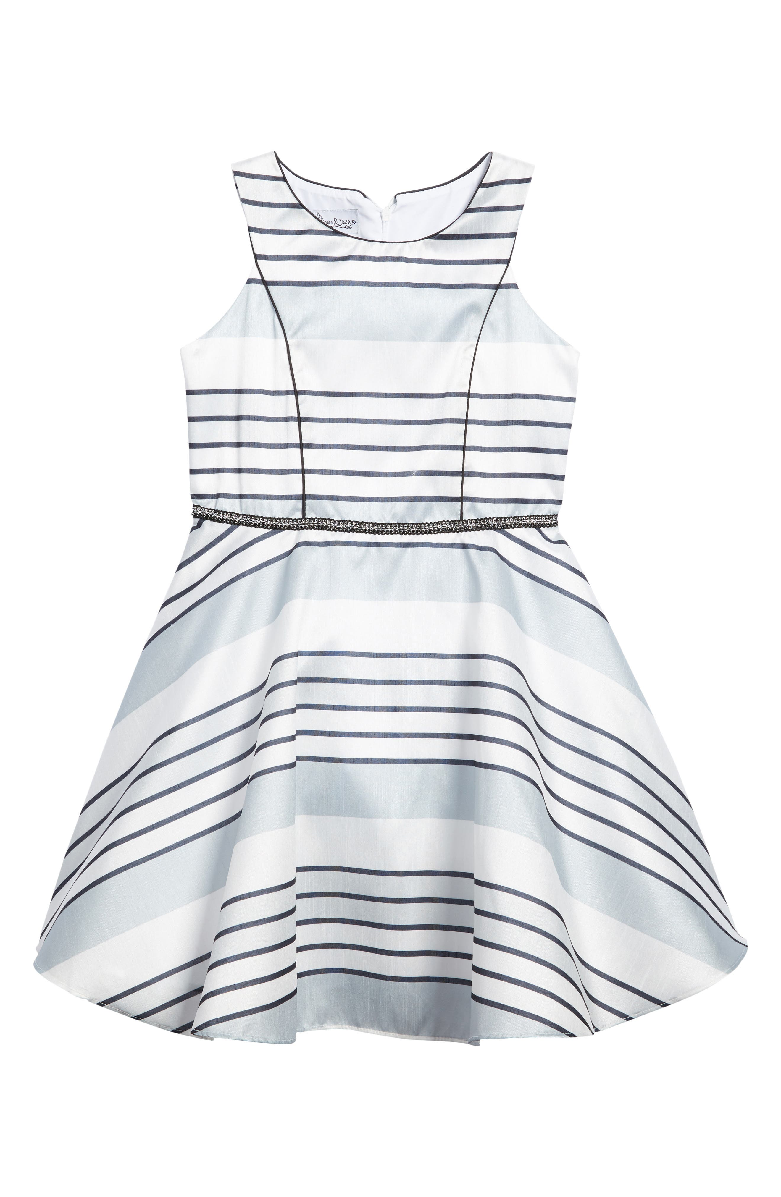 Stripe Dress,                         Main,                         color, 040