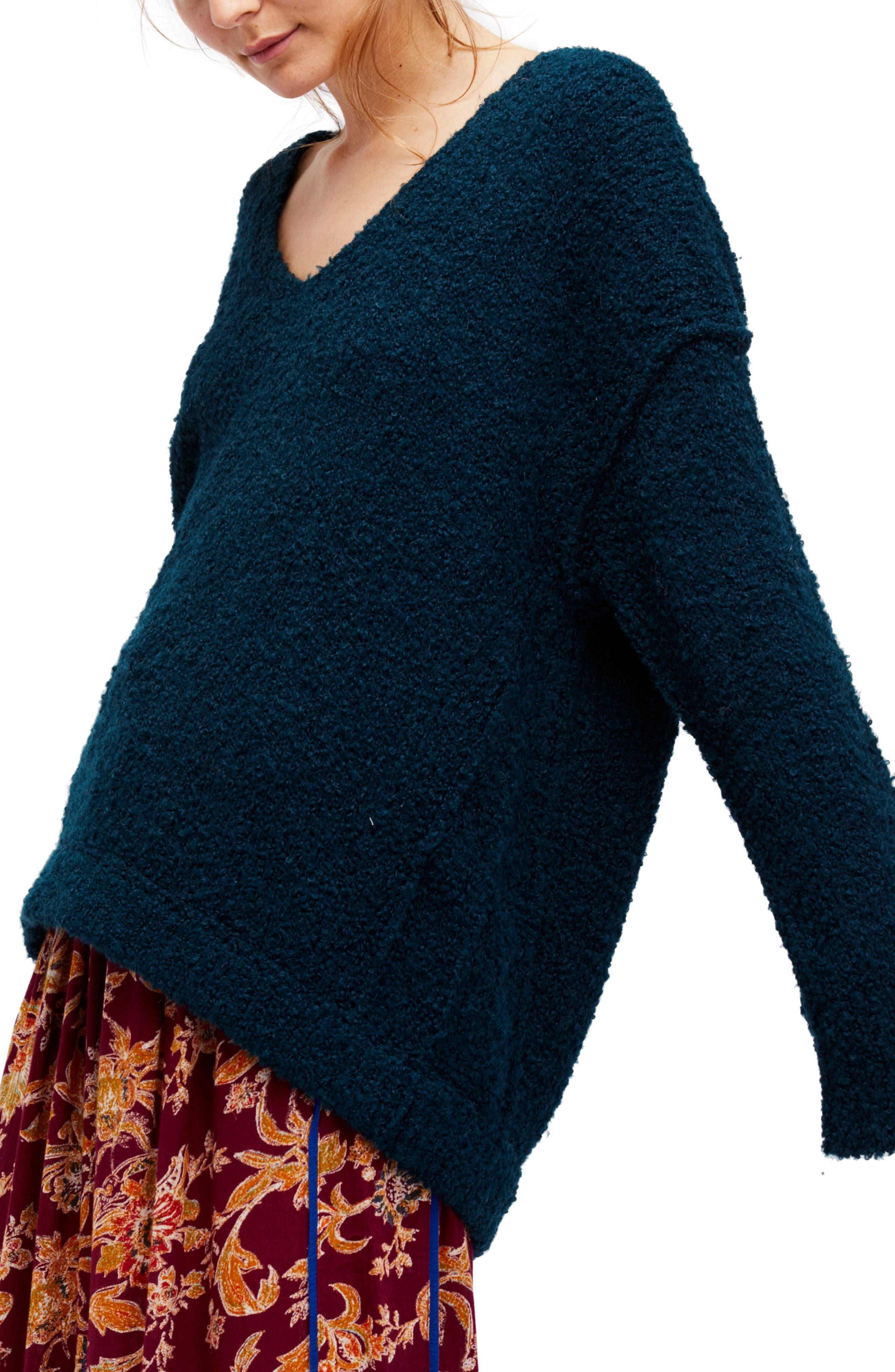 Lofty V-Neck Sweater,                             Main thumbnail 2, color,