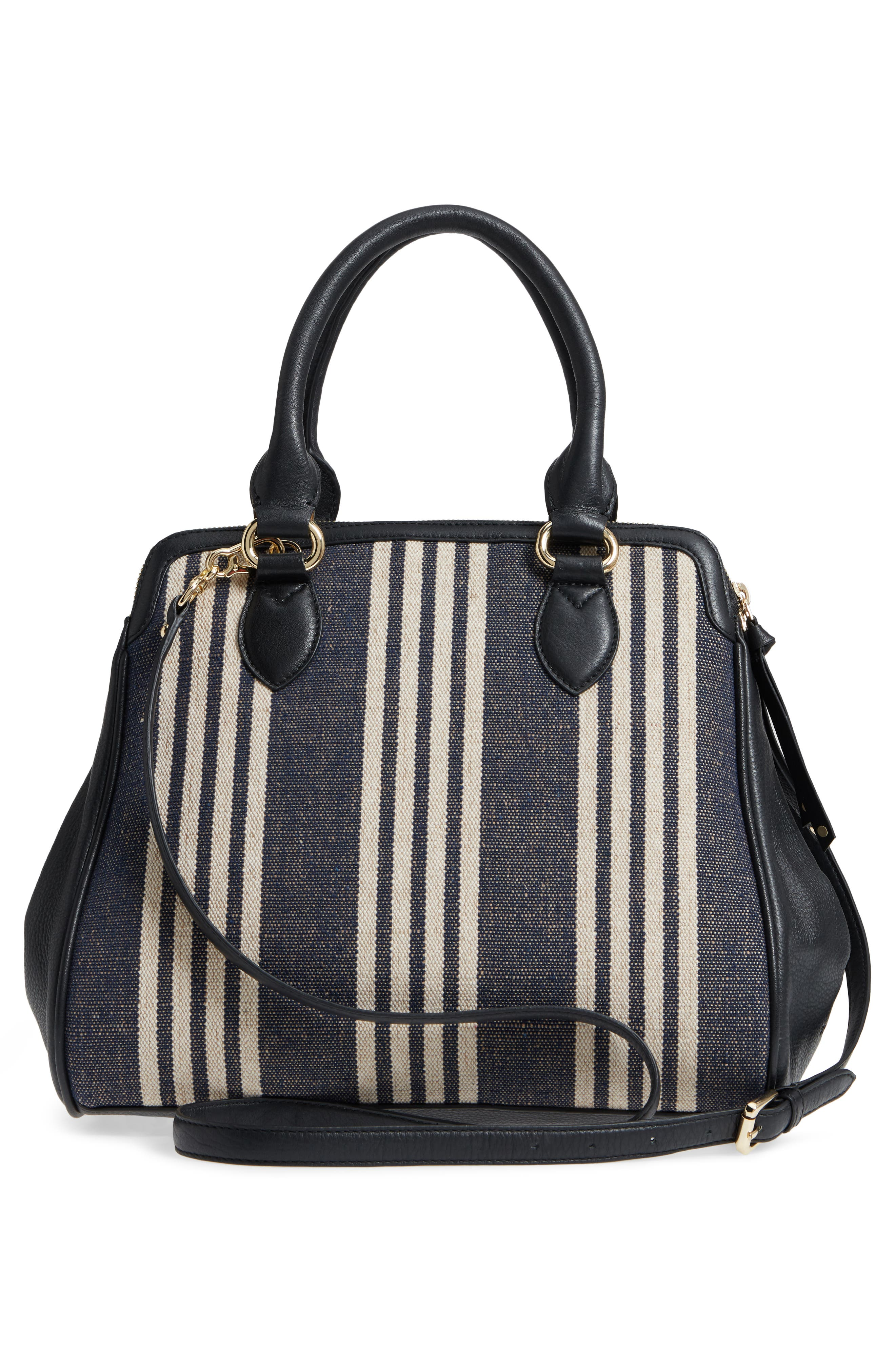 Céline Dion Forte Canvas Satchel,                             Alternate thumbnail 3, color,