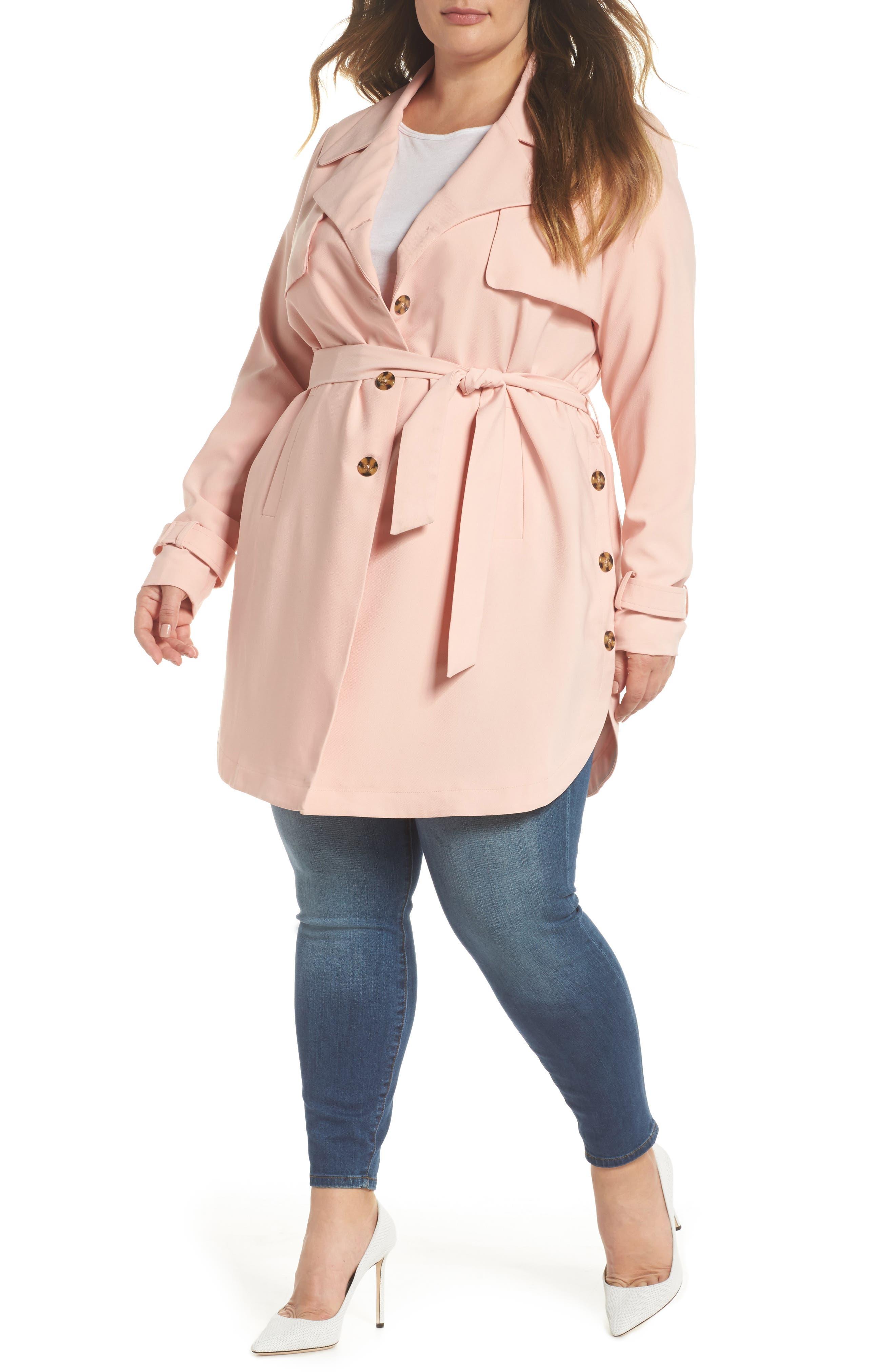 Marina Trench Coat,                         Main,                         color, 954