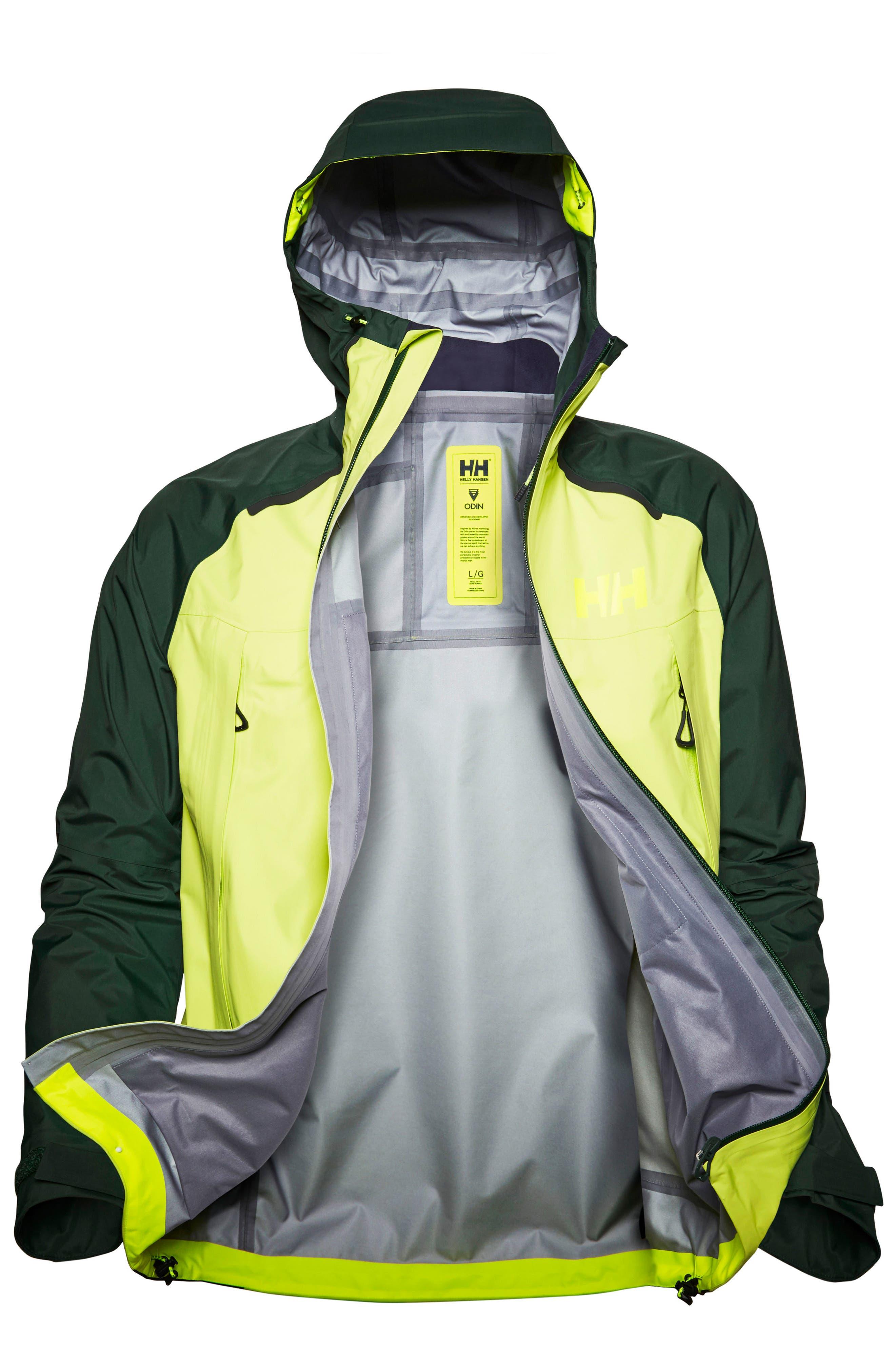 Odin 9 Worlds Waterproof Jacket,                             Alternate thumbnail 5, color,