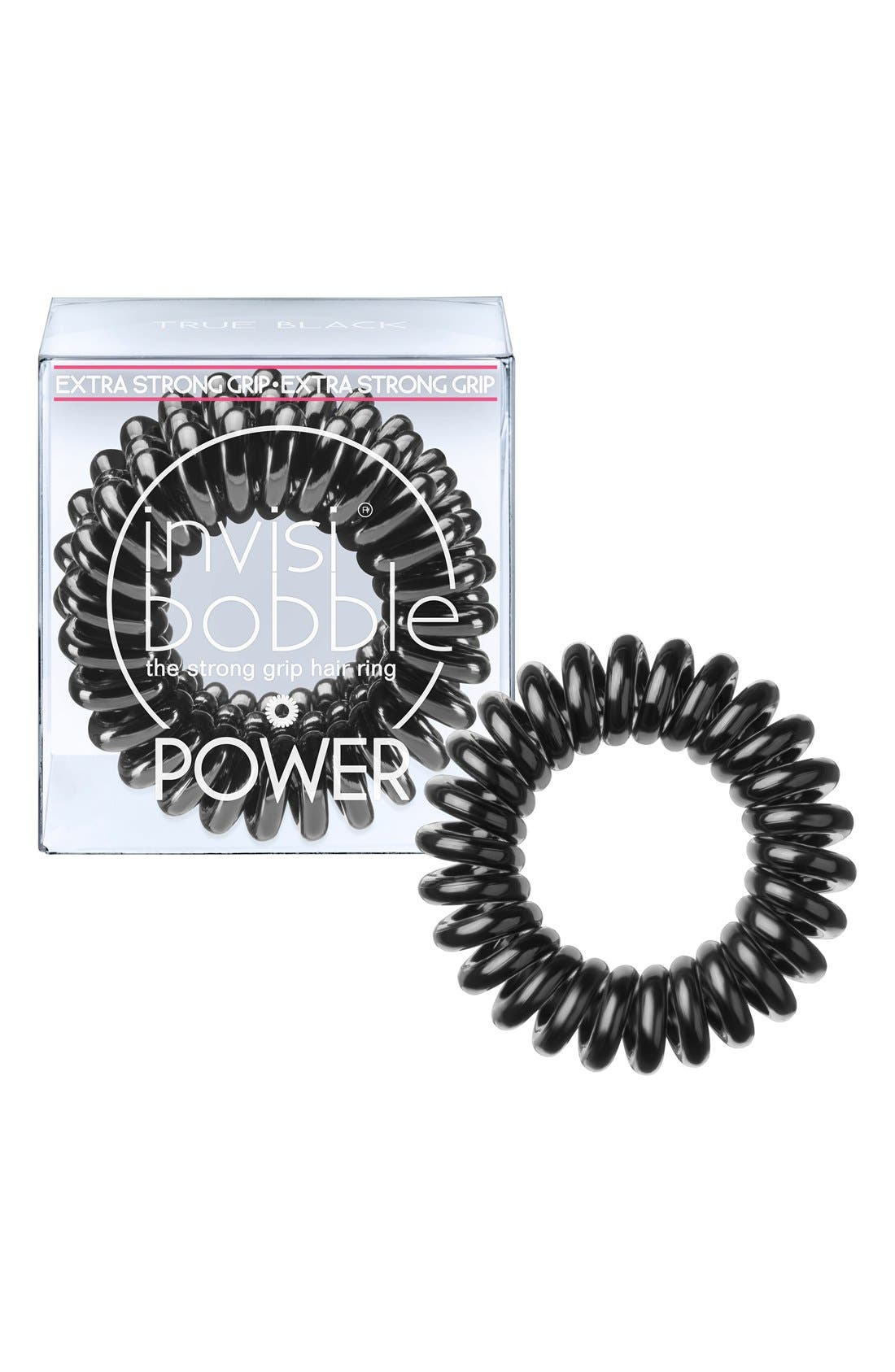 'Power' Hair Tie,                             Main thumbnail 1, color,                             001