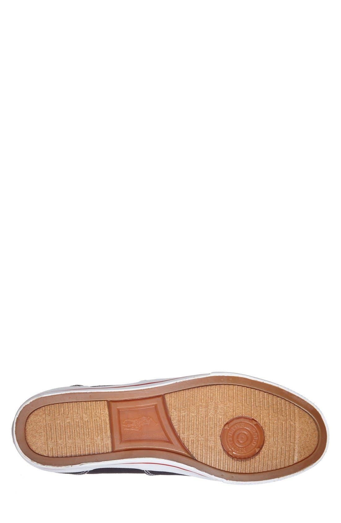 'Vaughn' Sneaker,                             Alternate thumbnail 4, color,                             001