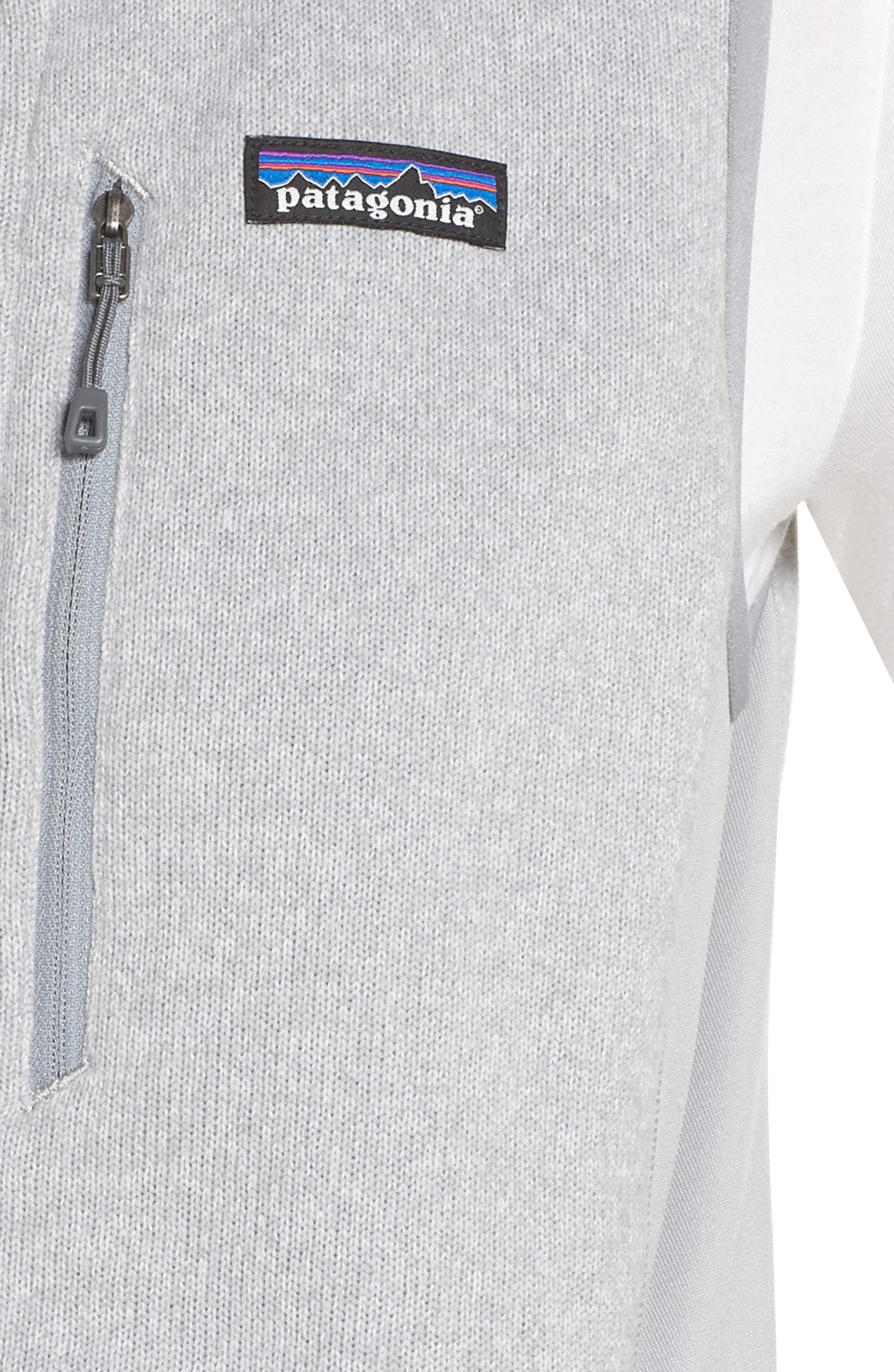 Performance Better Sweater Vest,                             Alternate thumbnail 4, color,                             DRIFTER GREY