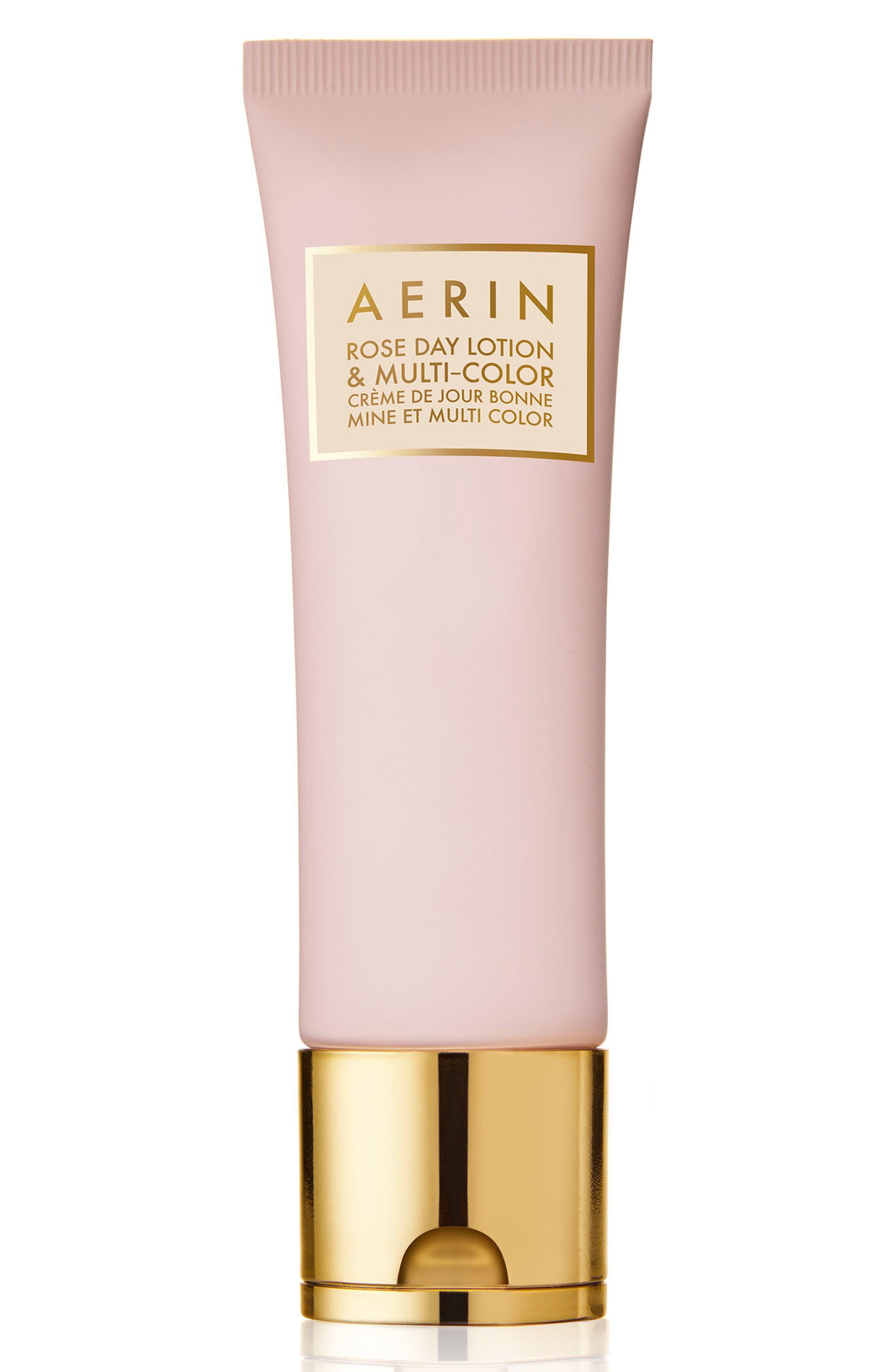 ESTÉE LAUDER,                             AERIN Beauty Rose Day Lotion & Multi-Color for Lips & Cheeks,                             Main thumbnail 1, color,                             000