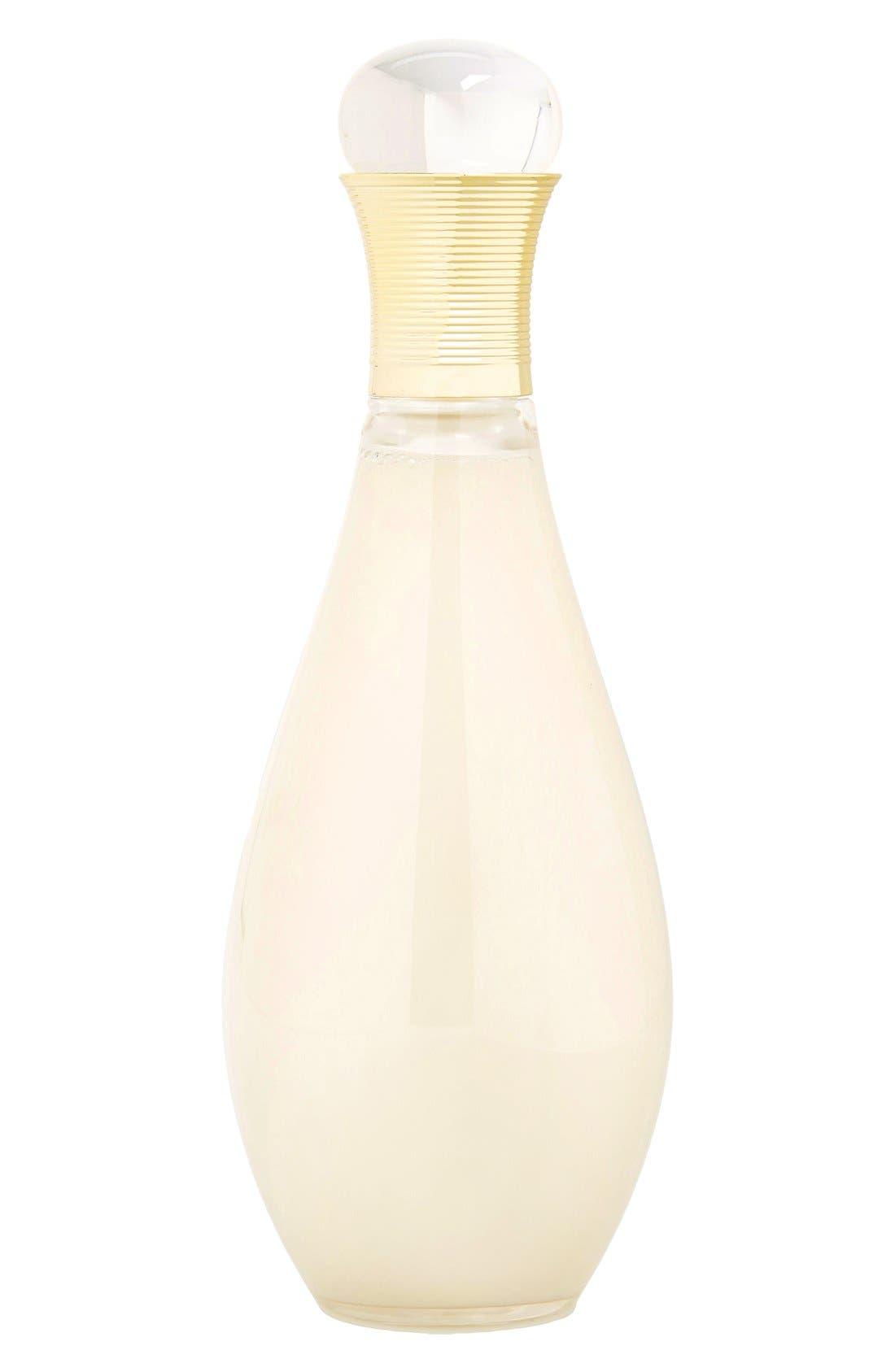 'J'adore' Creamy Shower Gel,                             Main thumbnail 1, color,                             NO COLOR