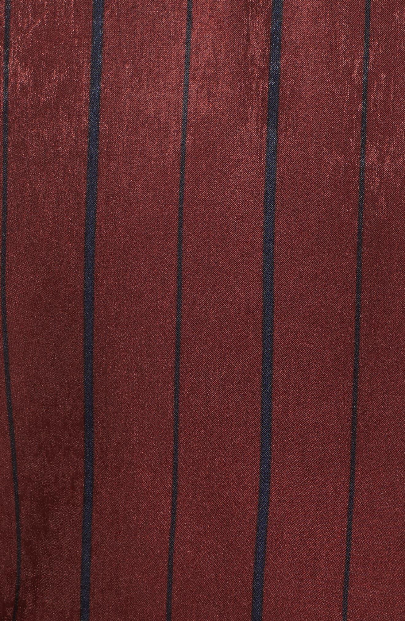 Stripe Wrap Top,                             Alternate thumbnail 5, color,