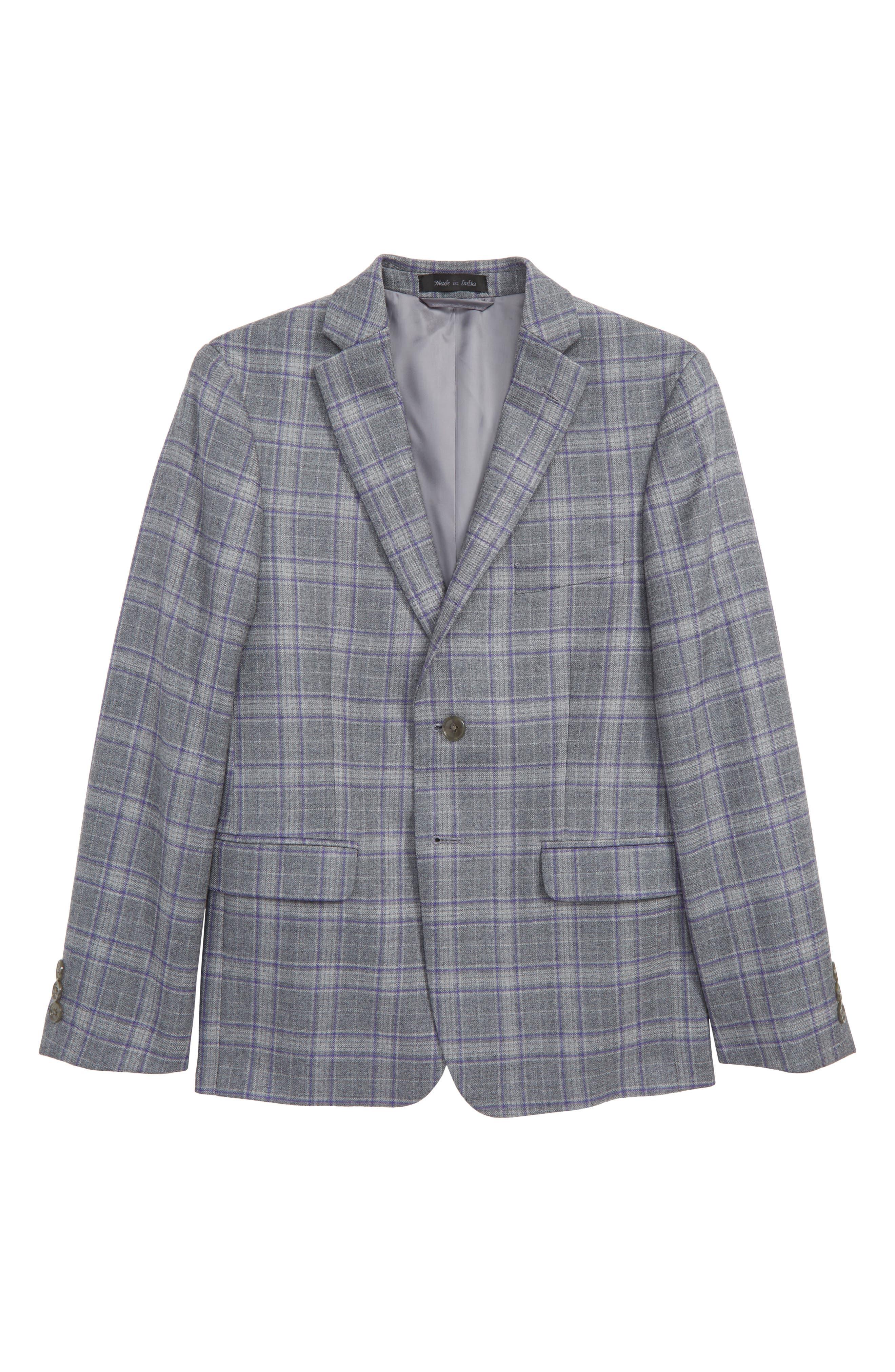 Sport Coat,                         Main,                         color, LIGHT GREY