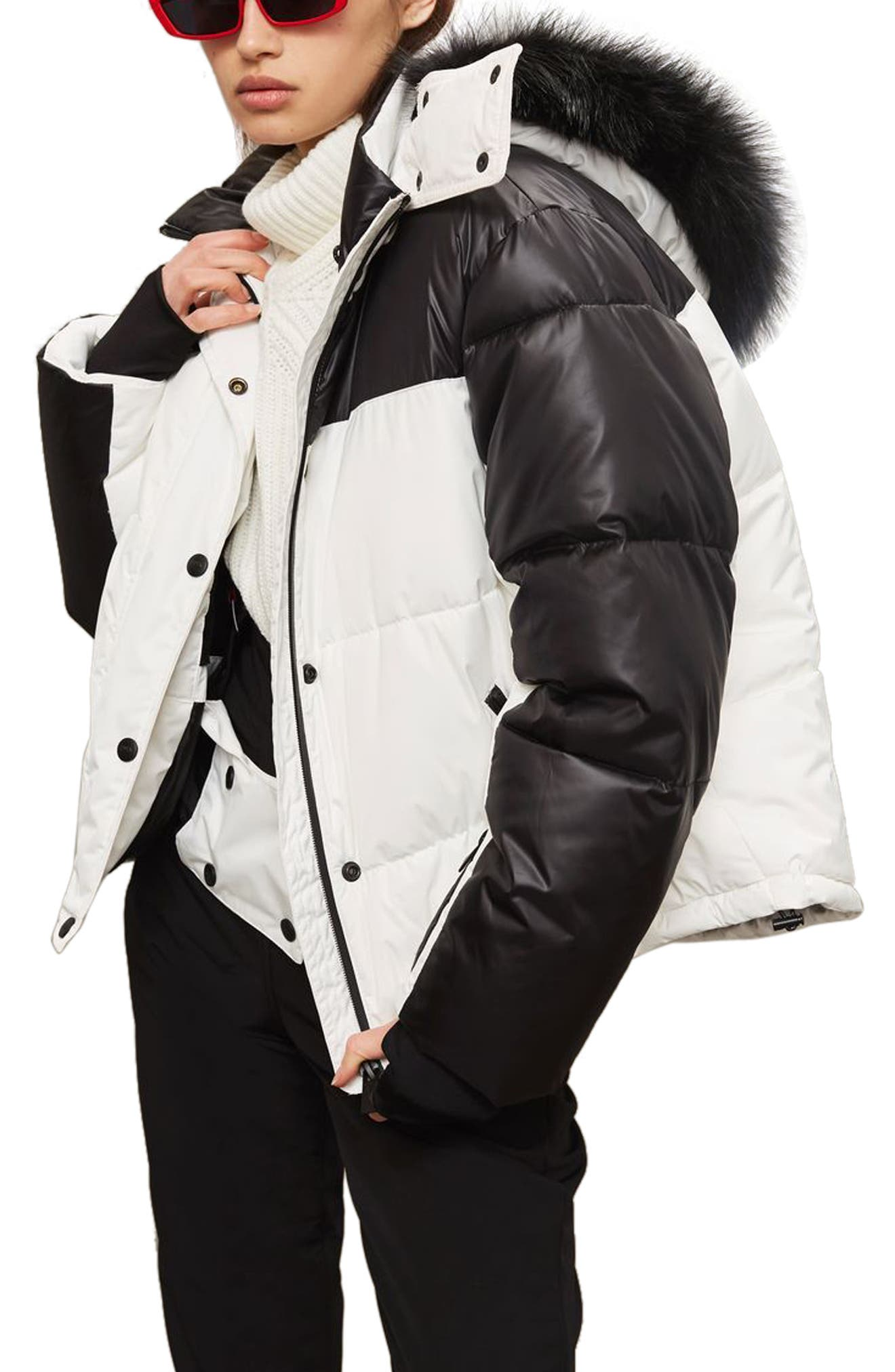 SNO Siren Ski Puffer Jacket,                         Main,                         color, 100