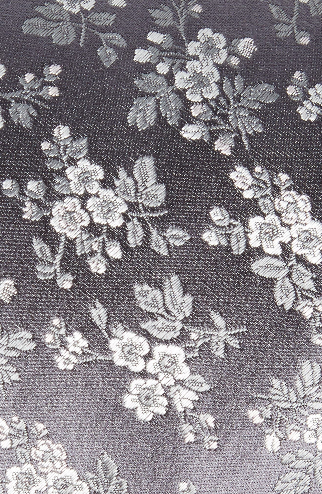 Floral Silk Tie,                             Alternate thumbnail 2, color,                             020