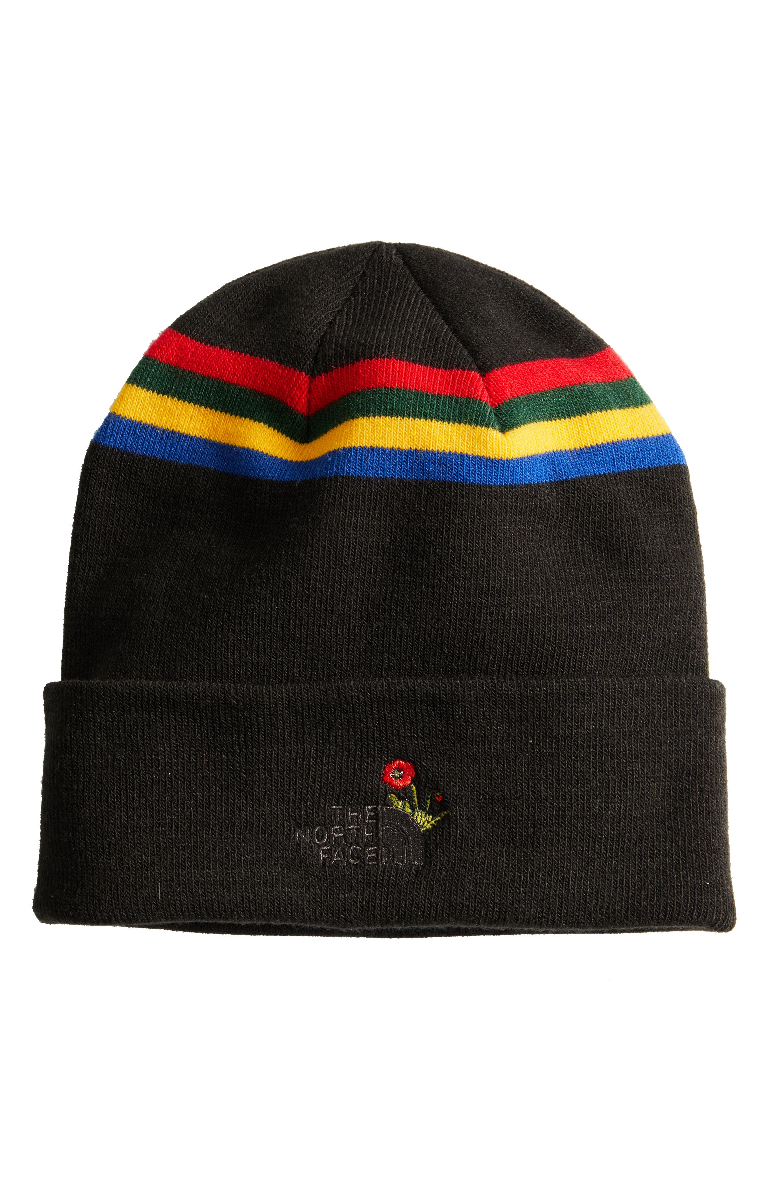 Poppy Dock Workers Beanie,                             Alternate thumbnail 2, color,                             001