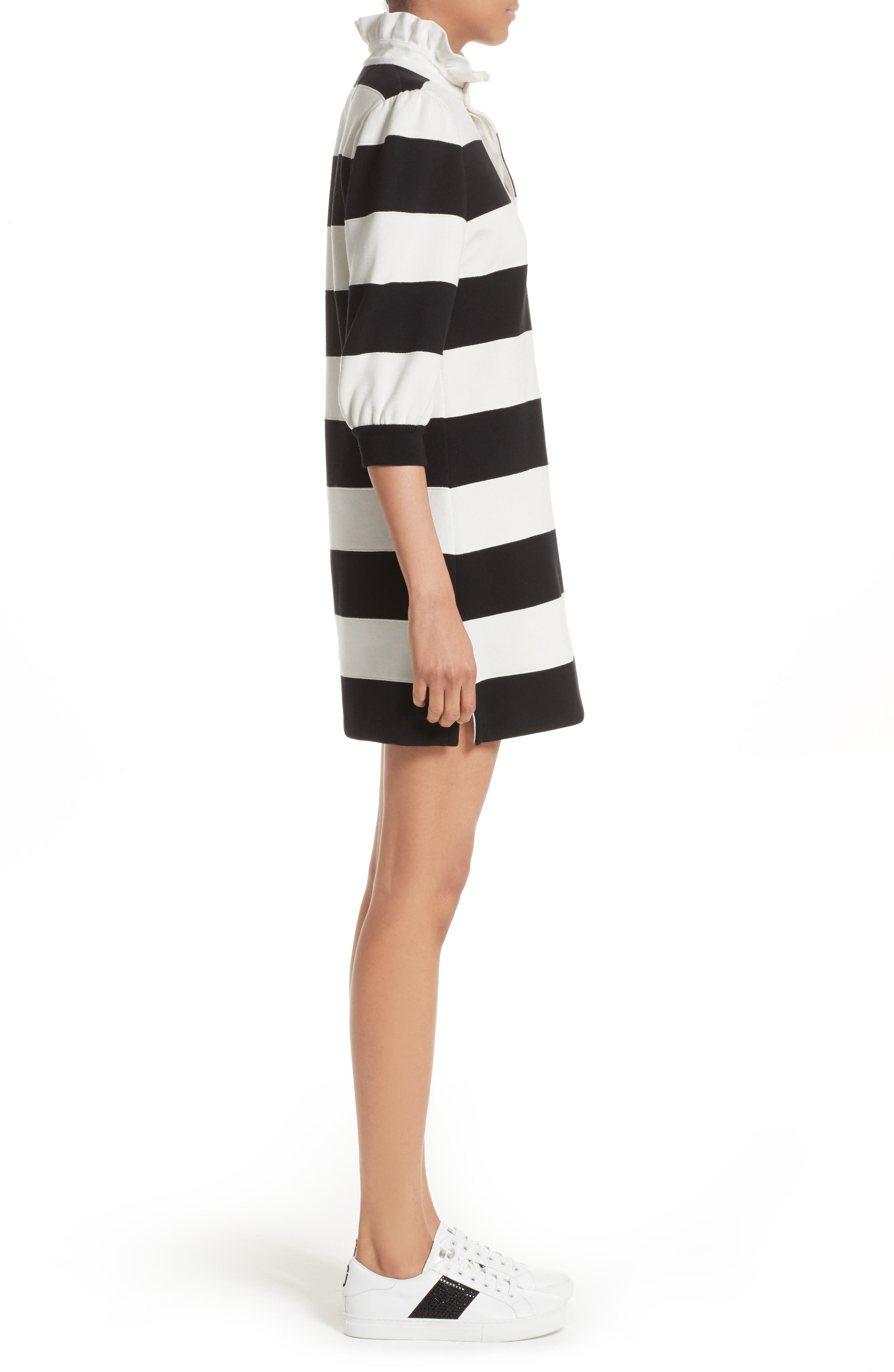 Rugby Sweater Dress,                             Alternate thumbnail 3, color,