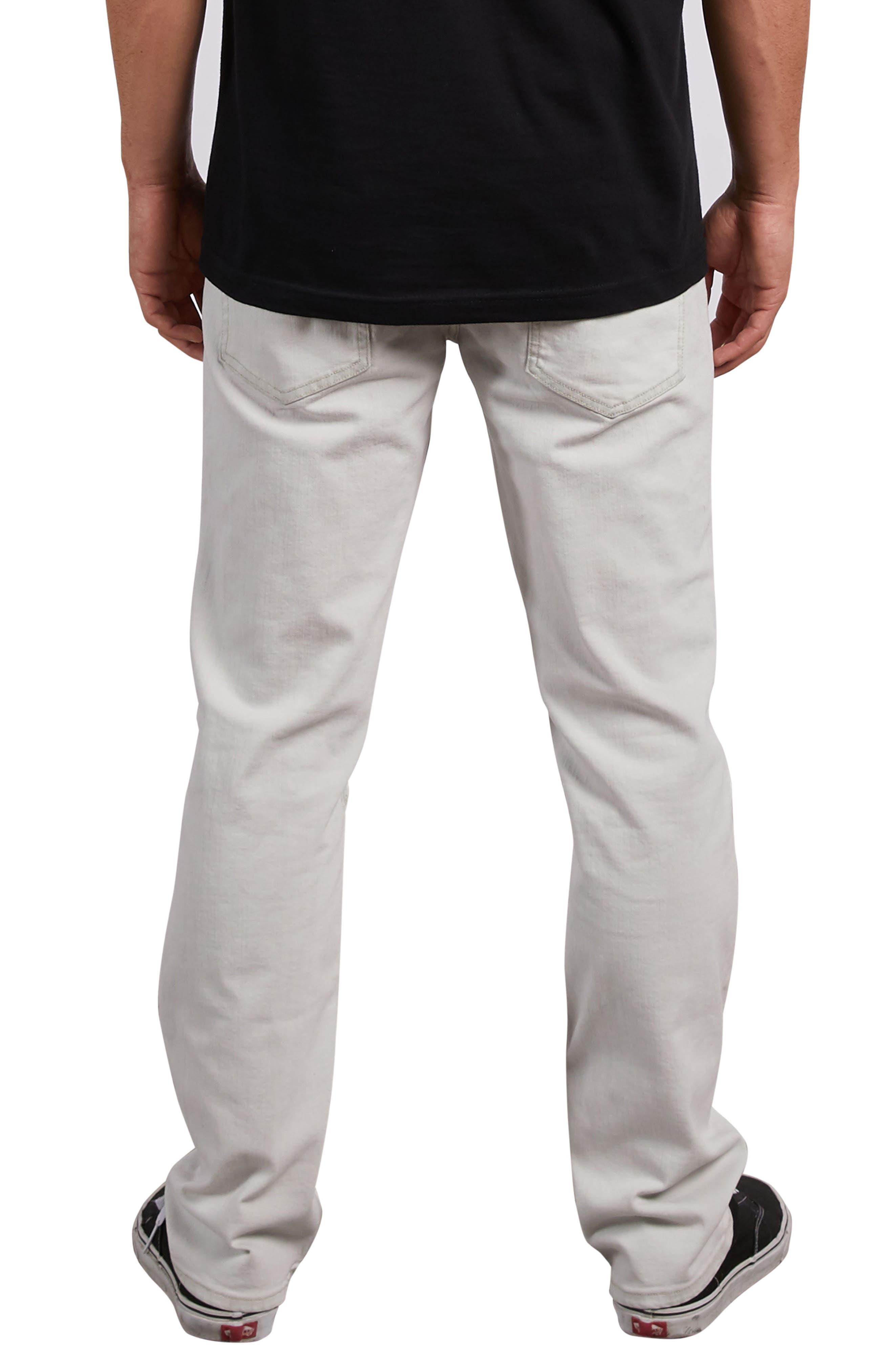 Solver Straight Leg Jeans,                             Alternate thumbnail 2, color,                             DIRTY WHITE