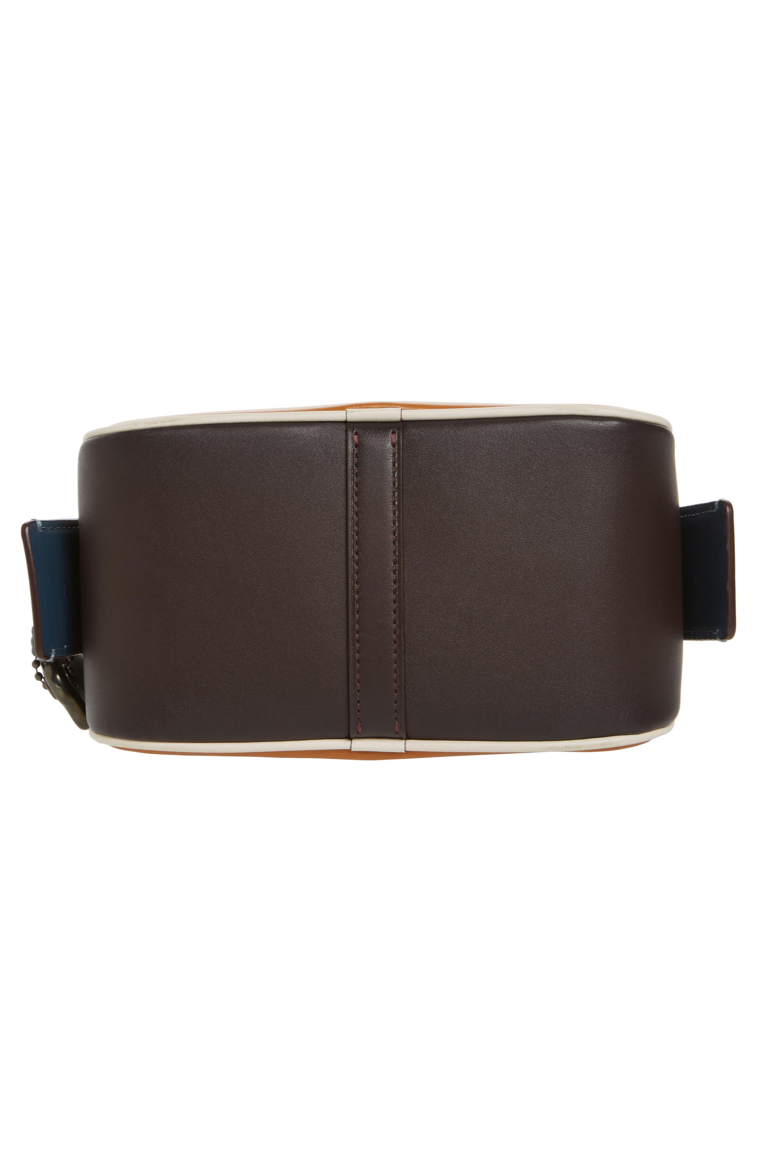 Rexy Leather Crossbody Bag,                             Alternate thumbnail 6, color,                             720