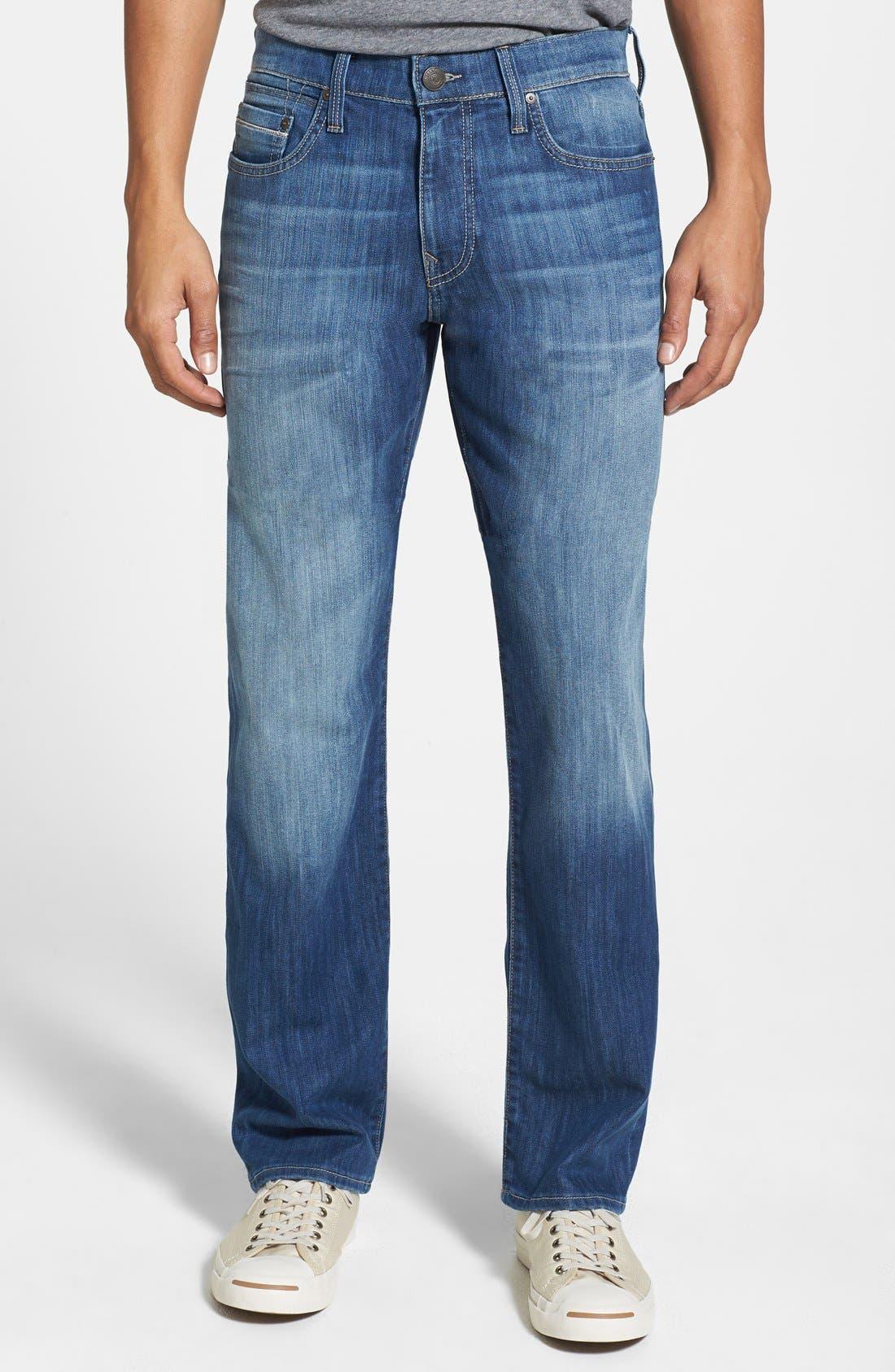 'Myles' Straight Leg Jeans,                         Main,                         color, 420