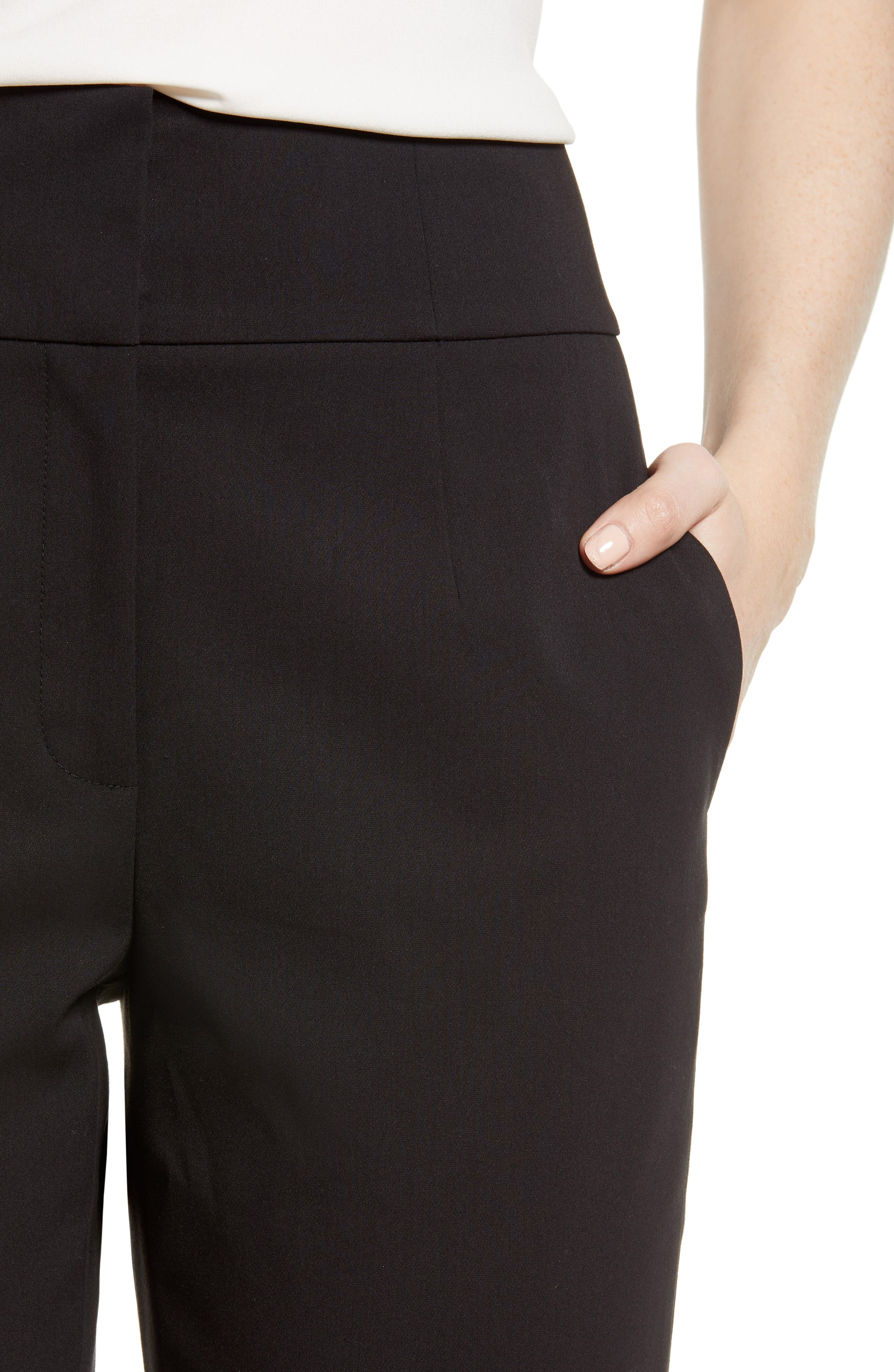 High Waist Pants,                             Alternate thumbnail 4, color,                             001