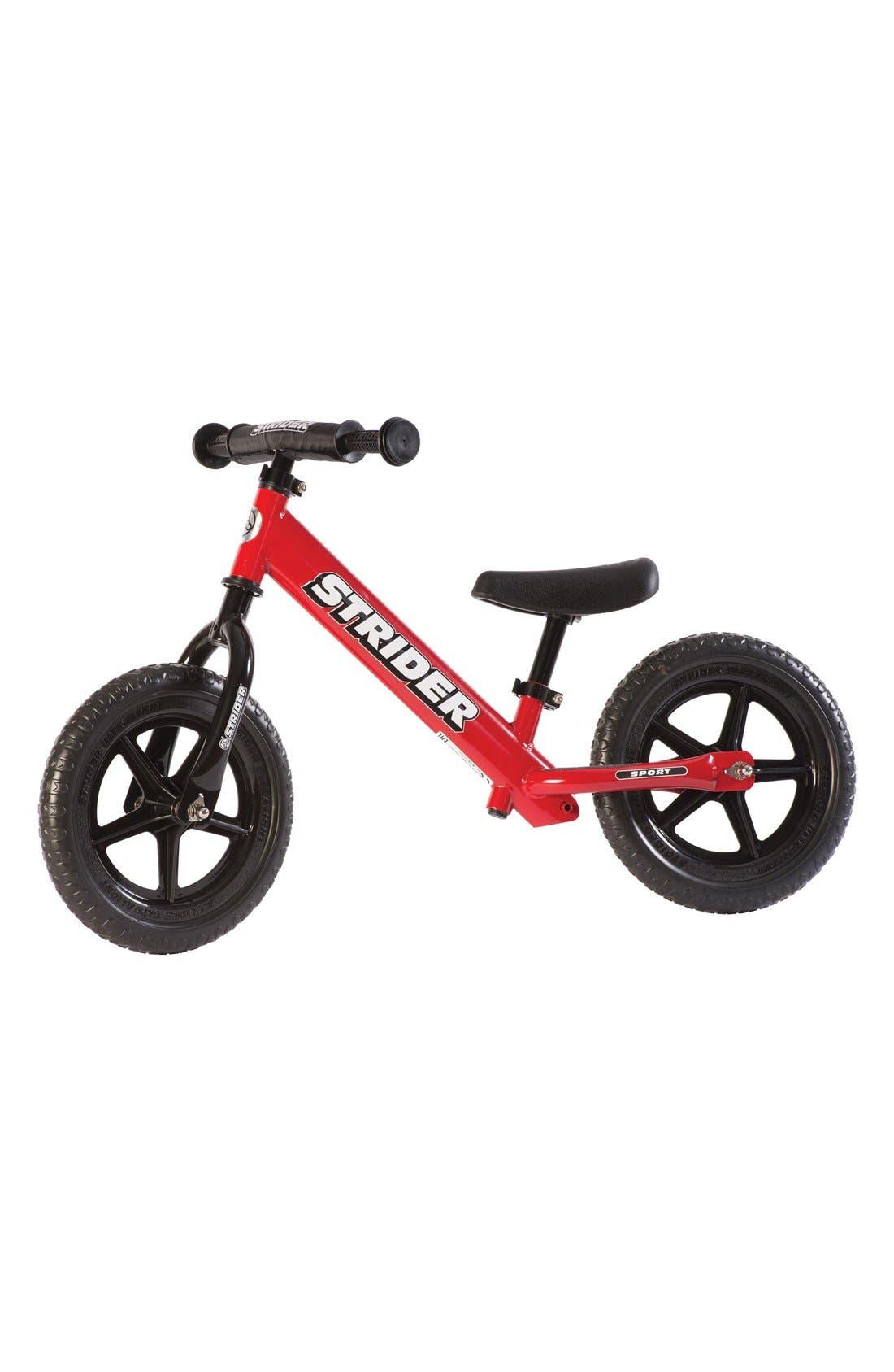 '12 Sport'Balance Bike,                         Main,                         color, RED